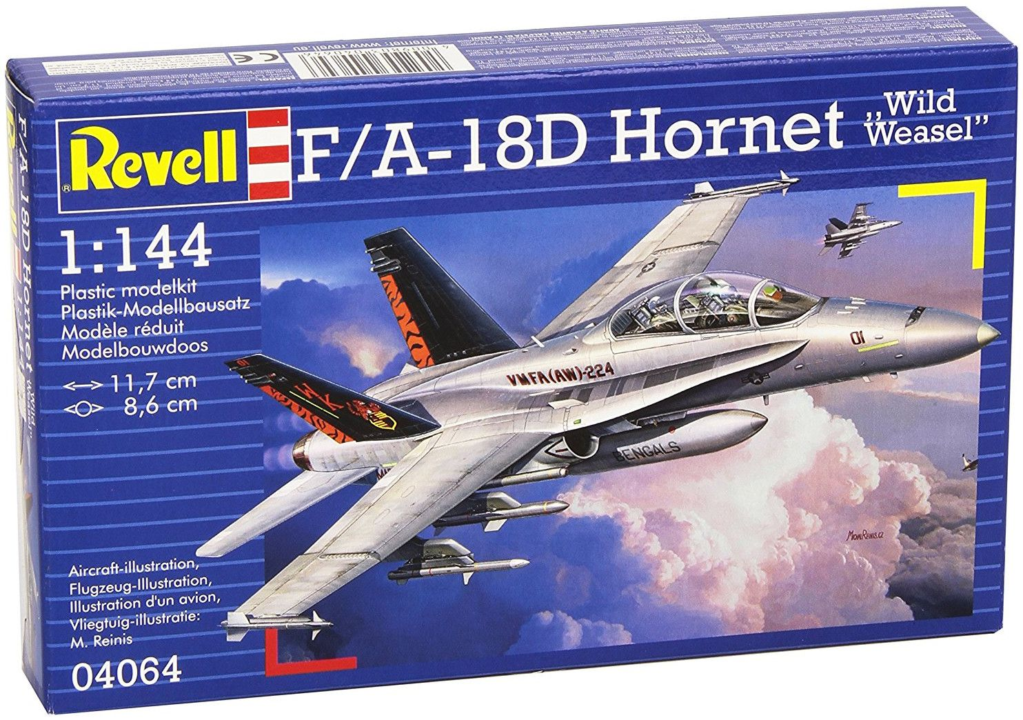 Сглобяем модел на военен самолет Revell - Tornado GR Mk.1 RAF (04063) - 2