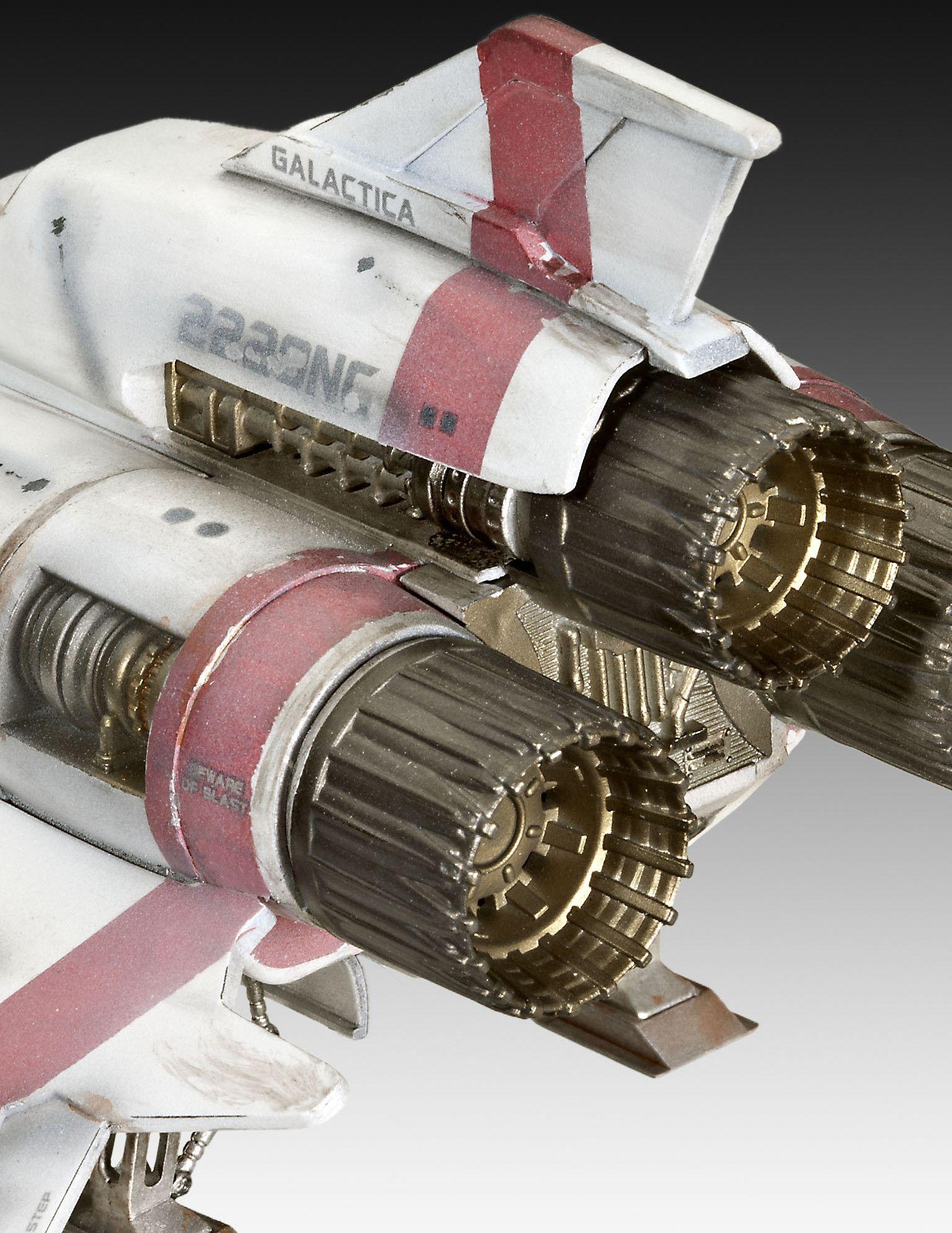 Сглобяем модел на космически кораб Revell - BSG Colonial Viper Mk. II (04988) - 5