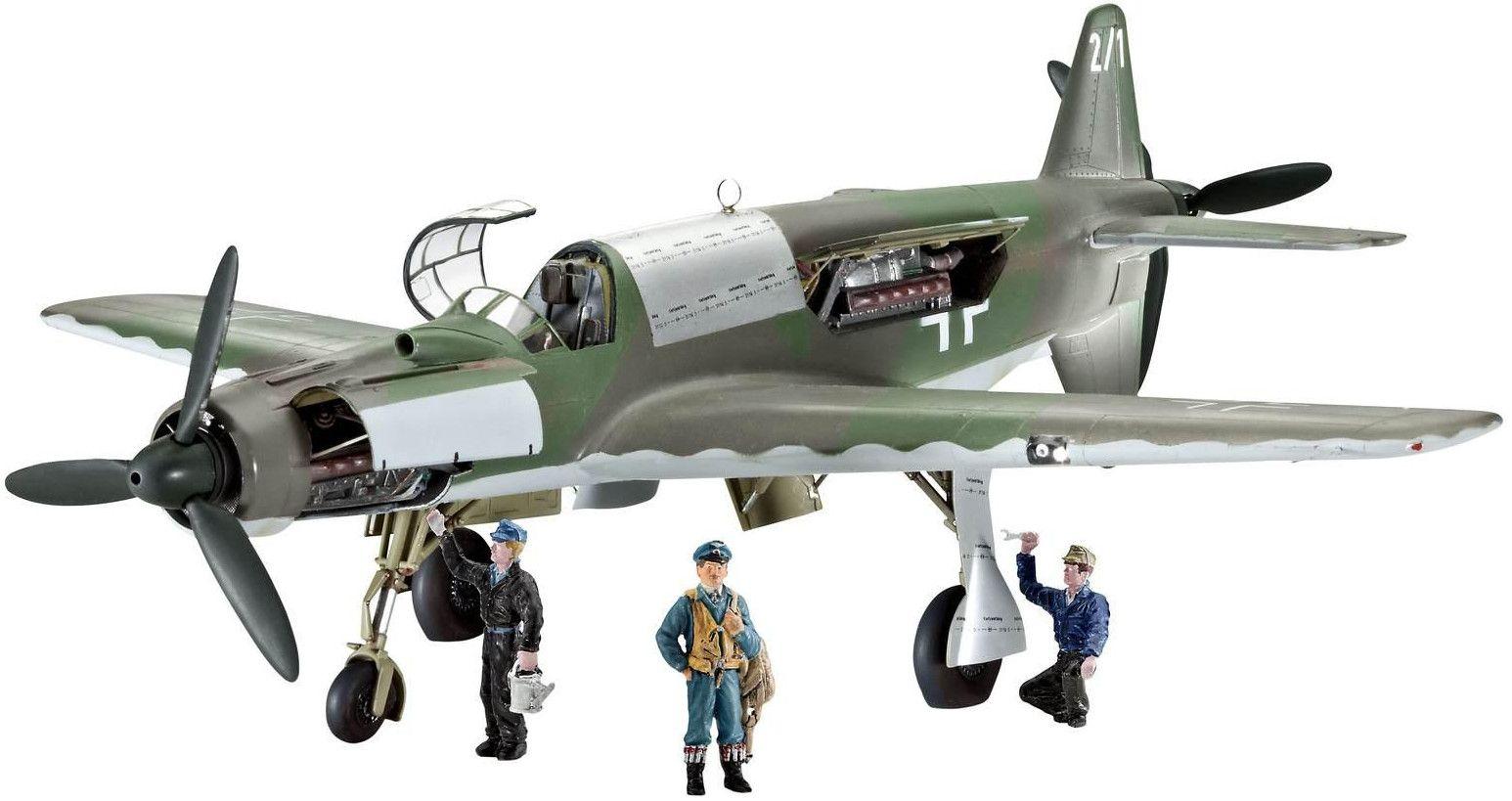 Сглобяем модел на военен самолет Revell - Dornier Do 335 PFEIL (04686) - 1
