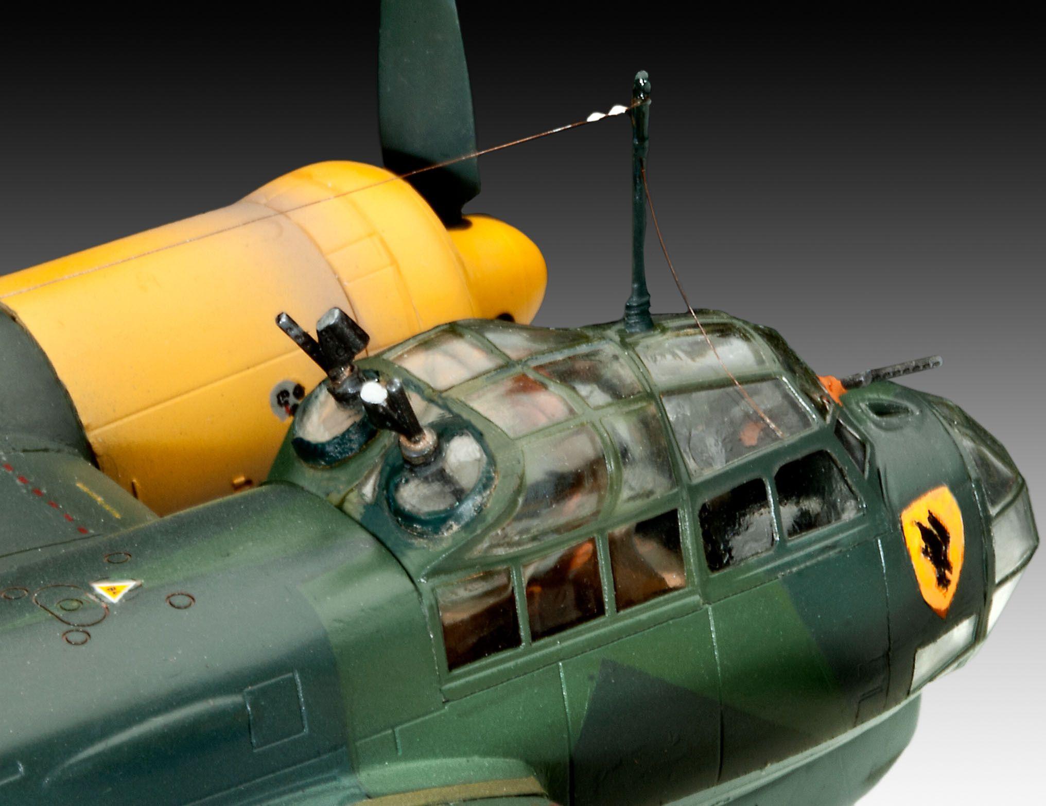 Сглобяем модел на военен самолет Revell Junkers - Ju88 A-4 Bomber (04672) - 7