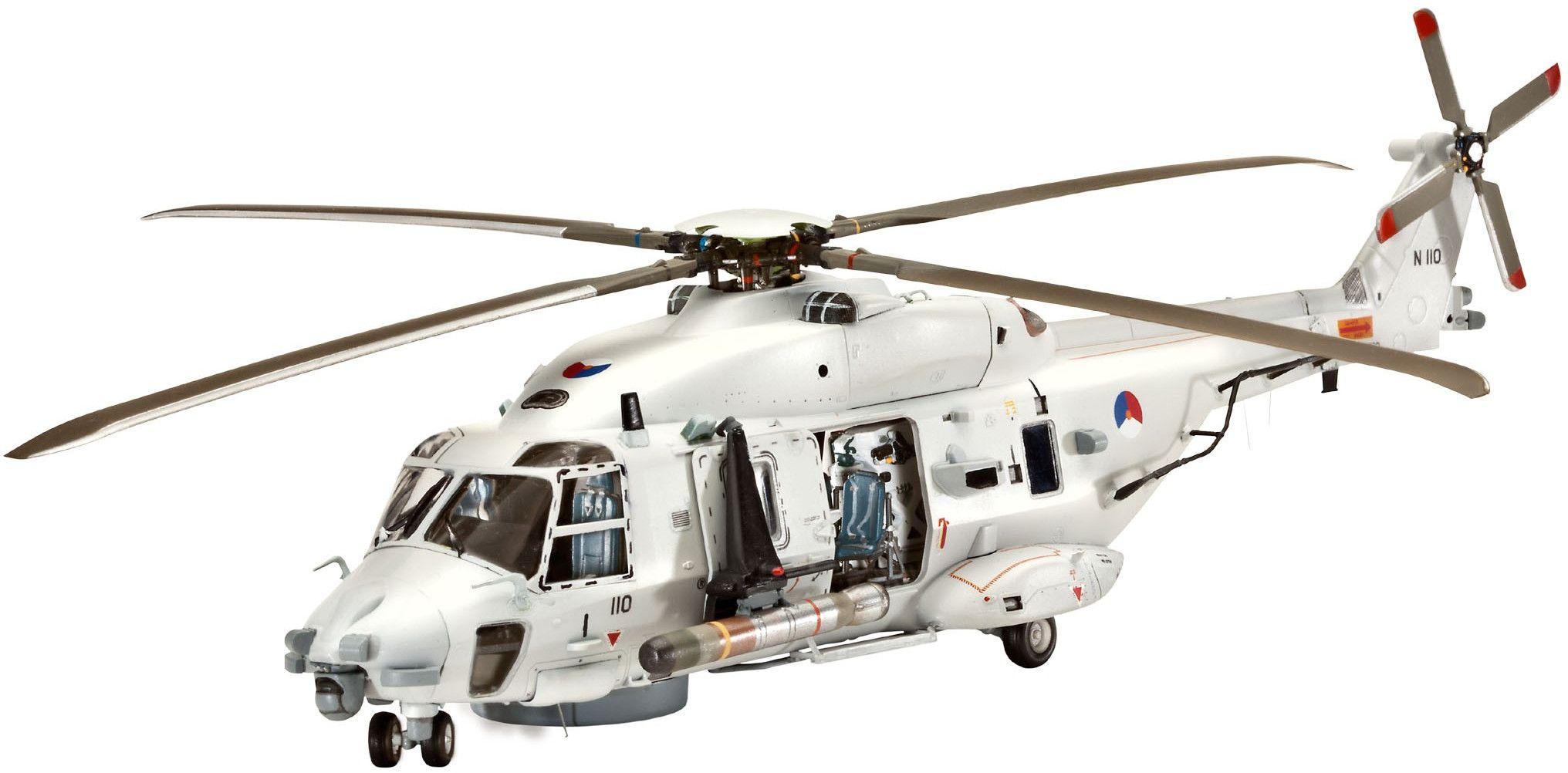 "Сглобяем модел на военен хеликоптер Revell - NH90 NFH ""Navy"" (04651) - 1"