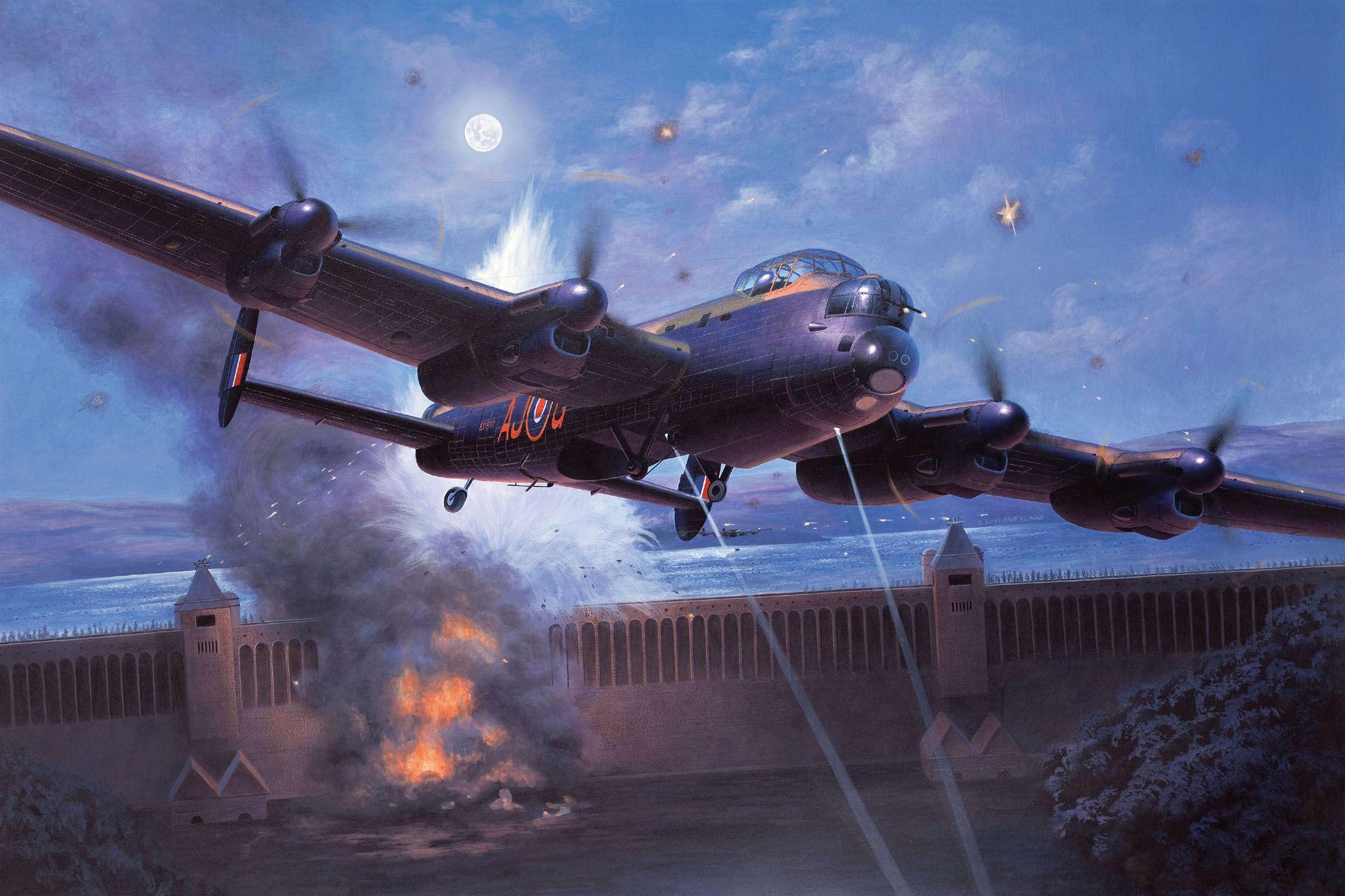 Сглобяем модел на военен самолет Revell - Avro Lancaster DAMBUSTERS (04295) - 2