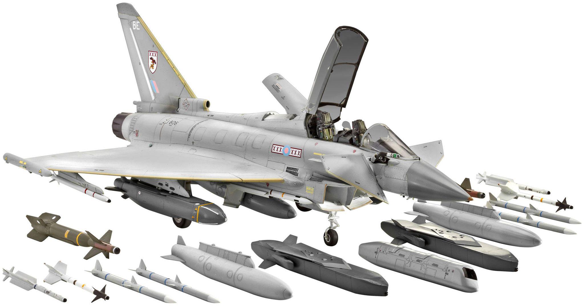 Сглобяем модел на изтребител Revell - EUROFIGHTER TYPHOON twin seater (04689) - 1