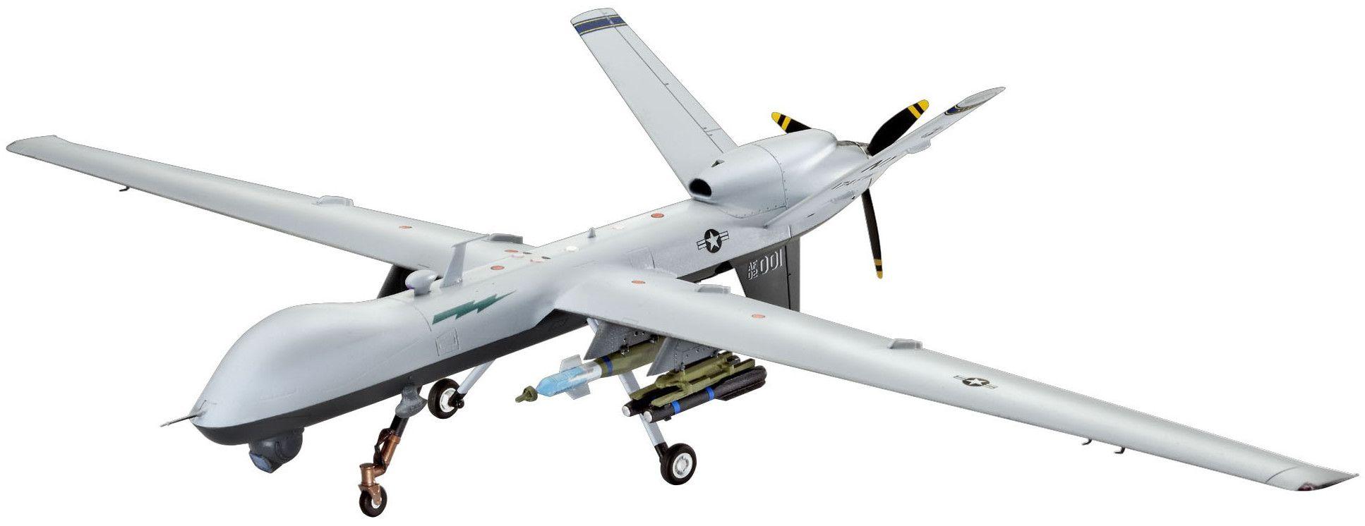 Сглобяем модел на изтребител Revell - Unmanned Aerial Vehicle MQ-9 REAPER (04865) - 1