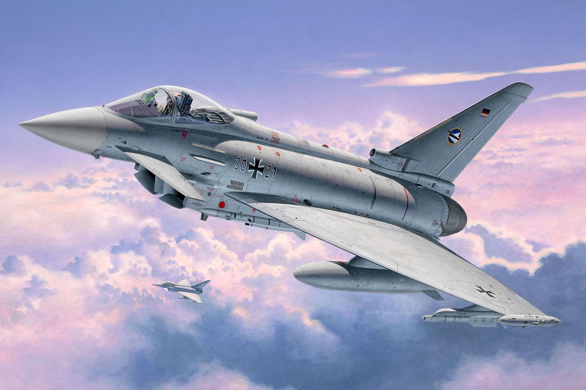 Сглобяем модел на изтребител Revell - Еurofighter TYPHOON single seater (04317) - 2