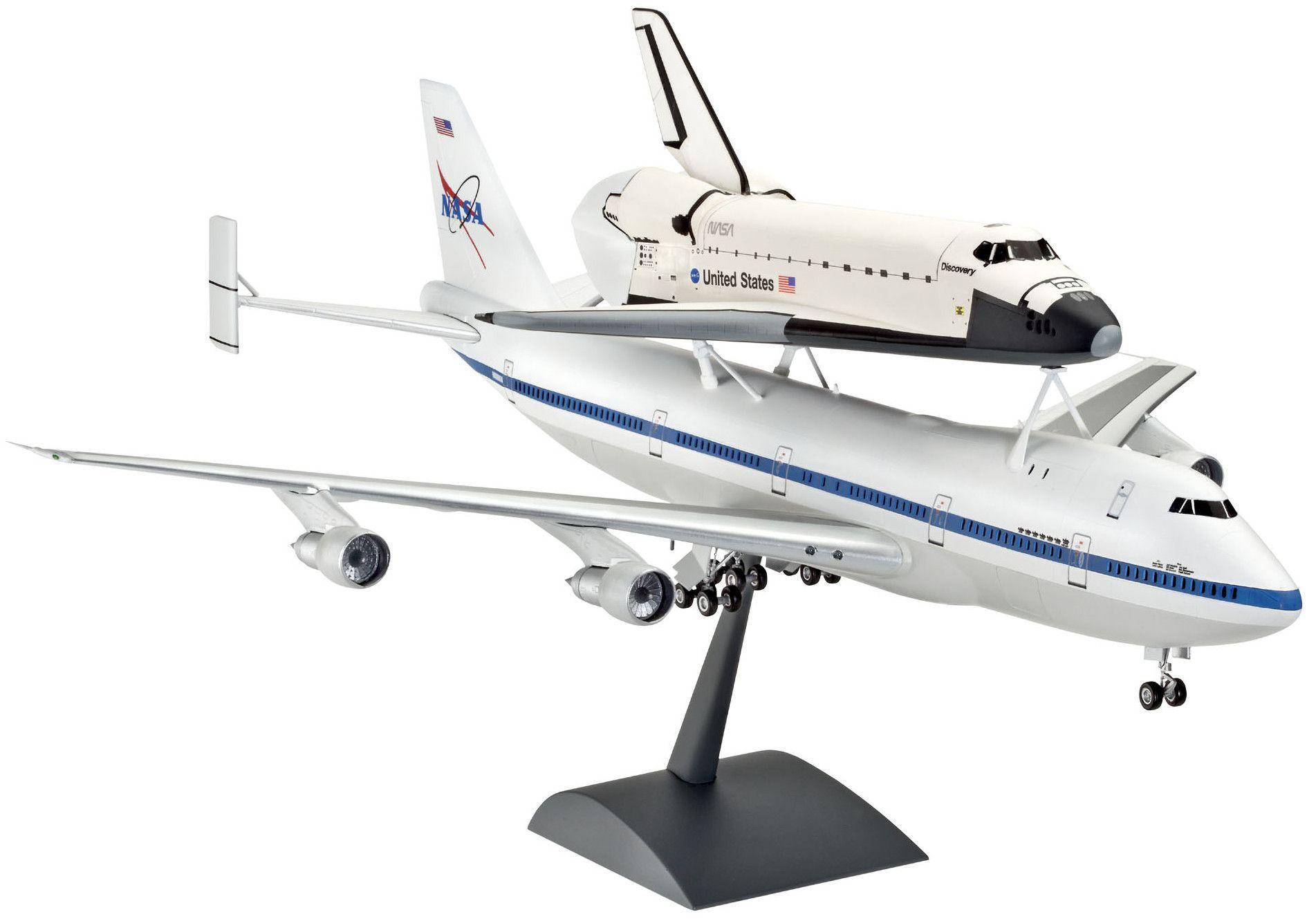 Сглобяем модел на самолет Revell - Boeing 747 SCA & Space Shuttle (04863) - 1