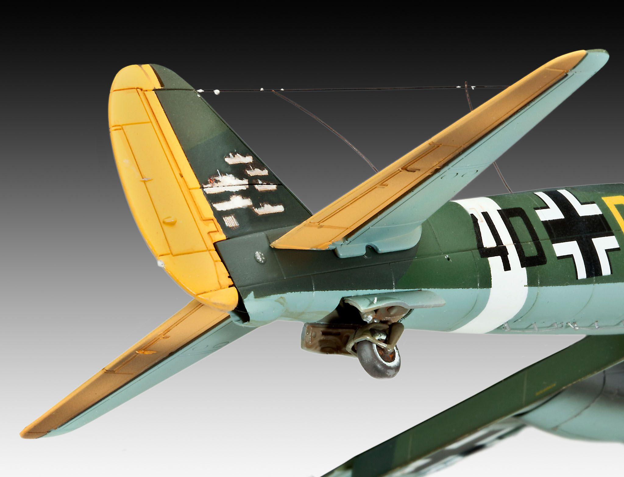 Сглобяем модел на военен самолет Revell Junkers - Ju88 A-4 Bomber (04672) - 5