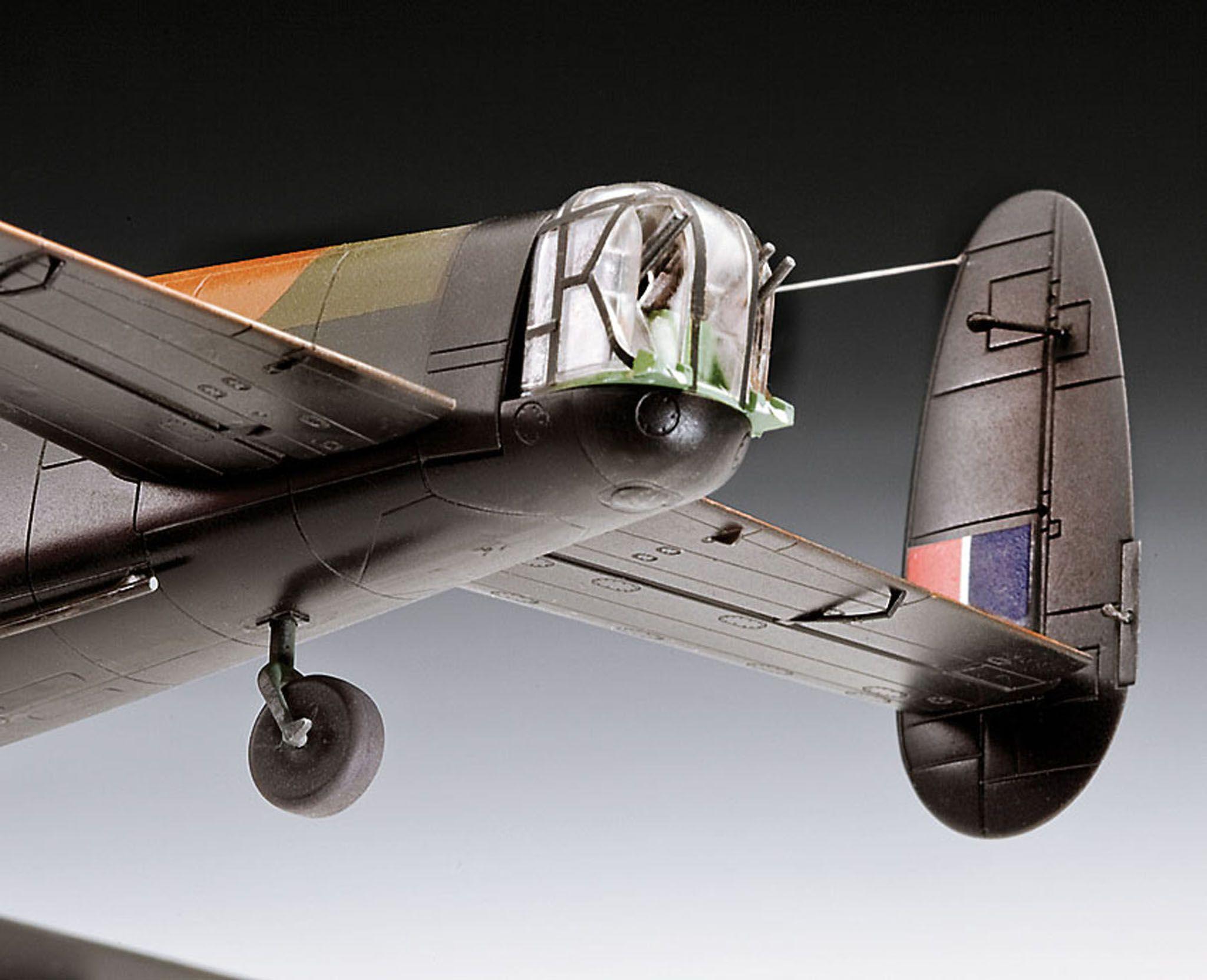 Сглобяем модел на военен самолет Revell - Avro Lancaster DAMBUSTERS (04295) - 7