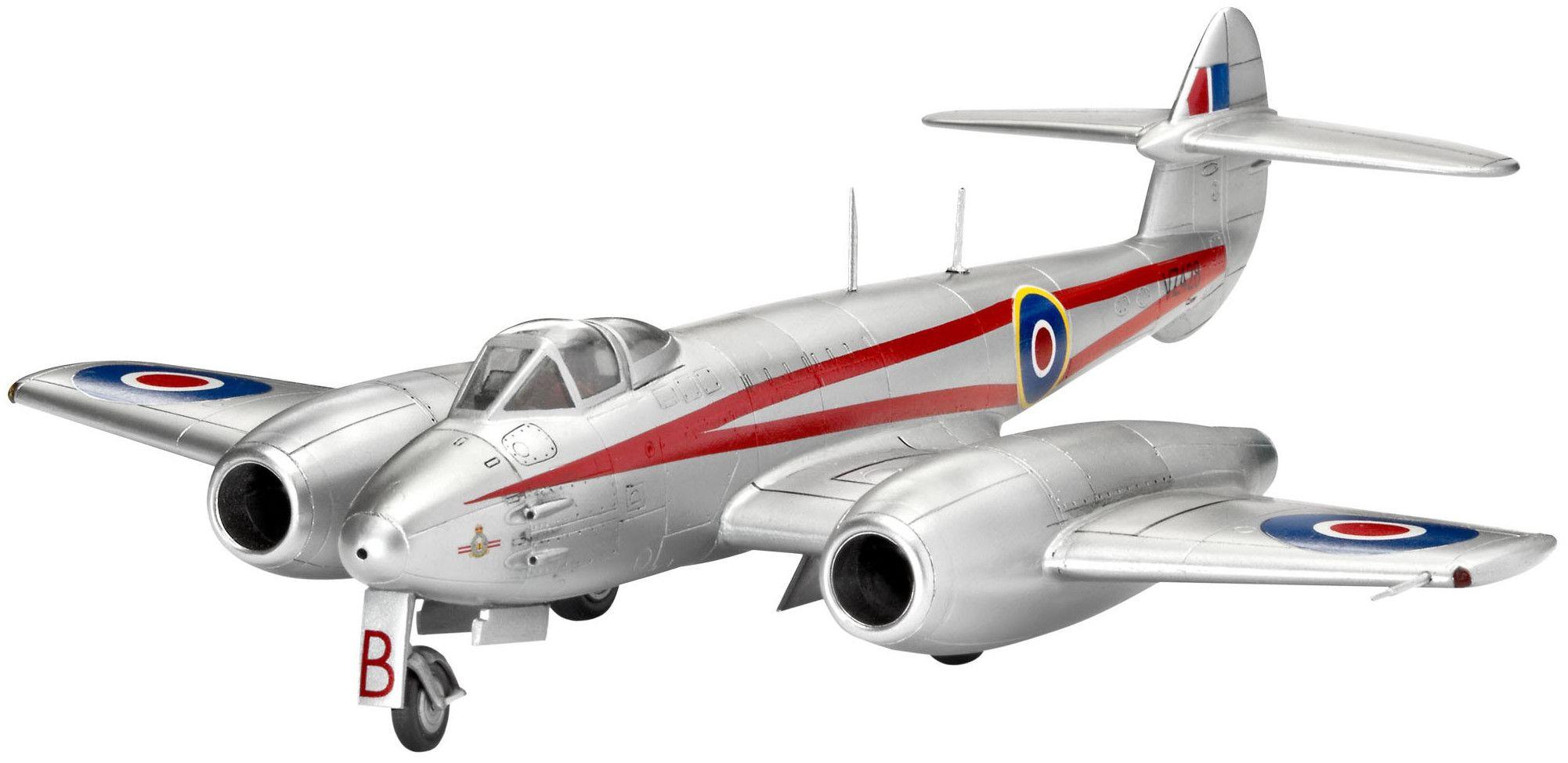 Сглобяем модел на военен самолет Revell Gloster - Meteor Mk.4 (04658) - 1