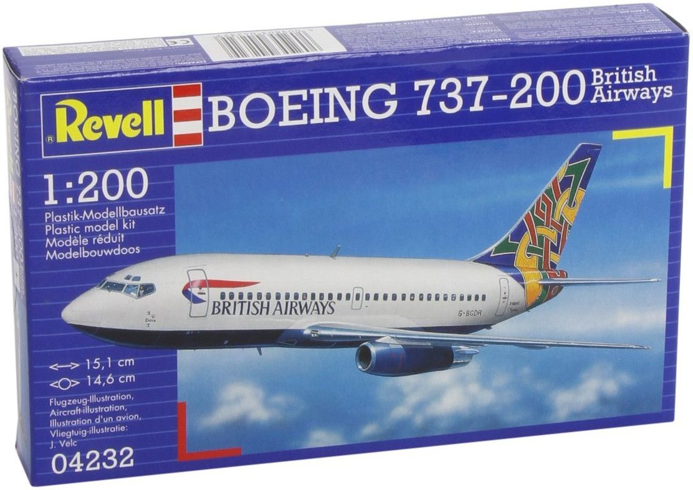 Сглобяем модел на самолет Revell - Boeing 737-200 (04232) - 1