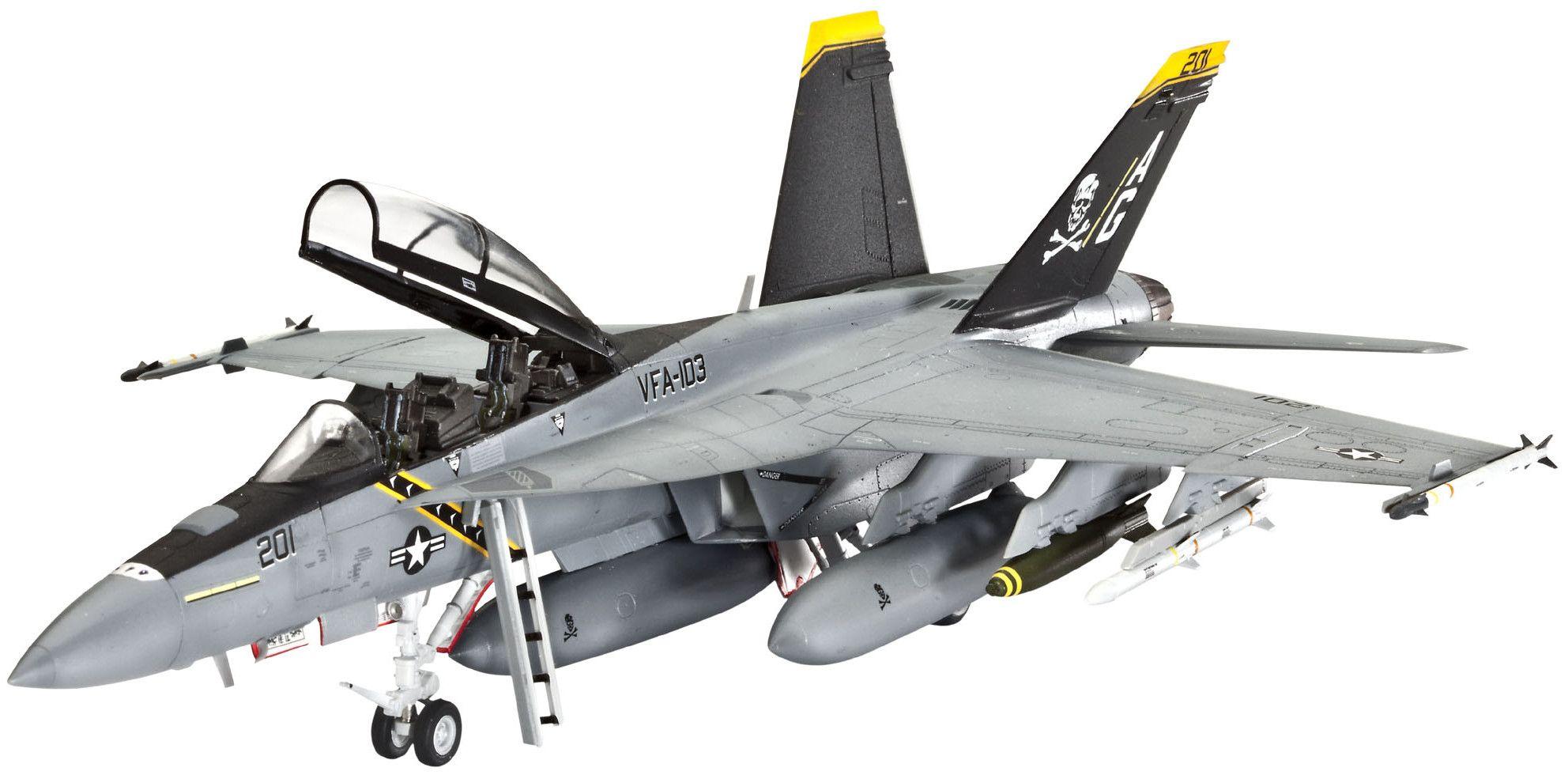 Сглобяем модел на изтребител Revell - F/A-18F SUPER HORNET twin seater (04864) - 1