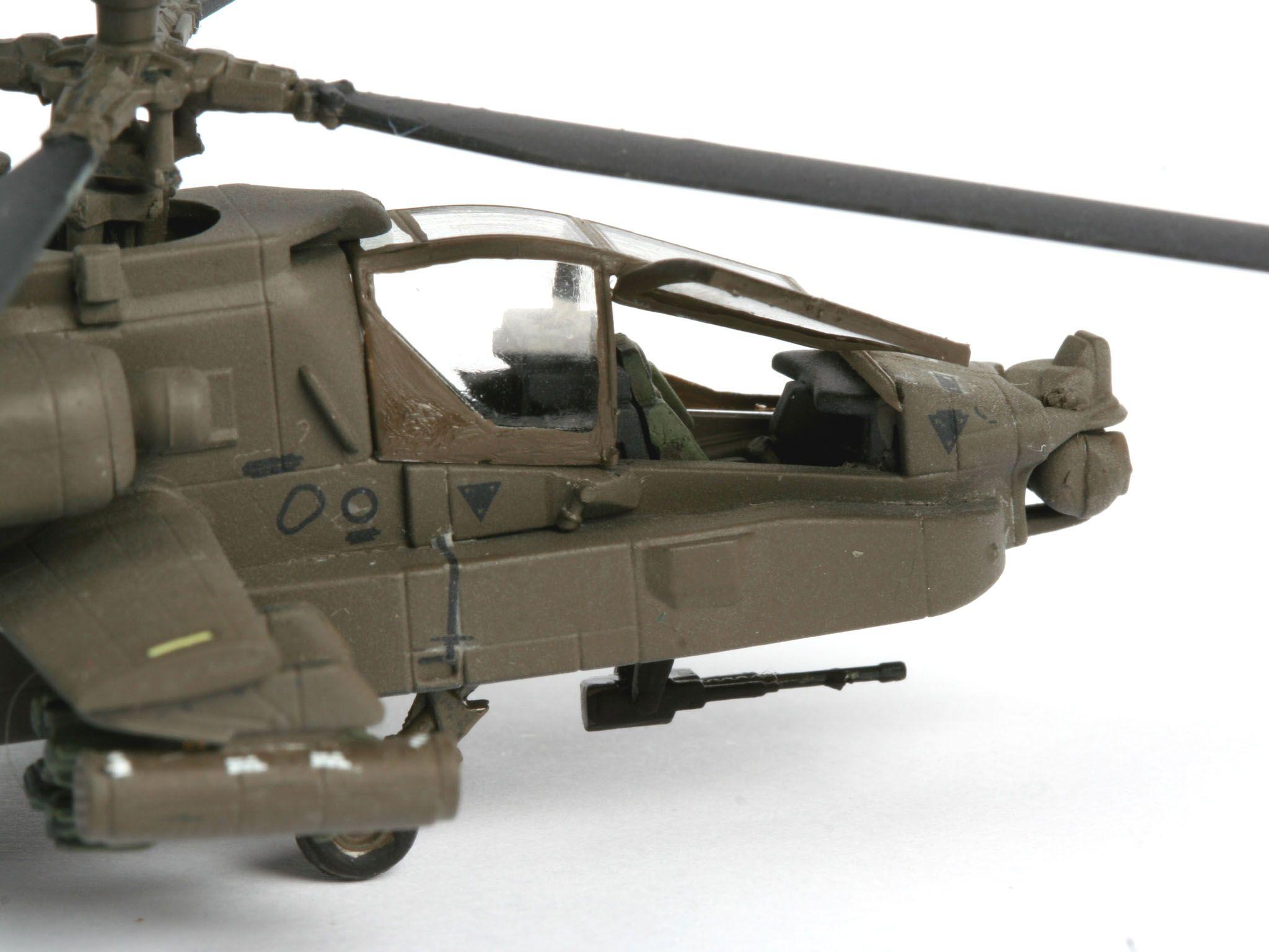 Сглобяем модел на хеликоптер Revell - AH-64D Longbow Apache (04046) - 5