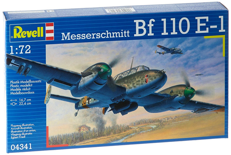Сглобяем модел на военен самолет Revell - Messerschmitt Bf 110 E-1 (04341) - 2