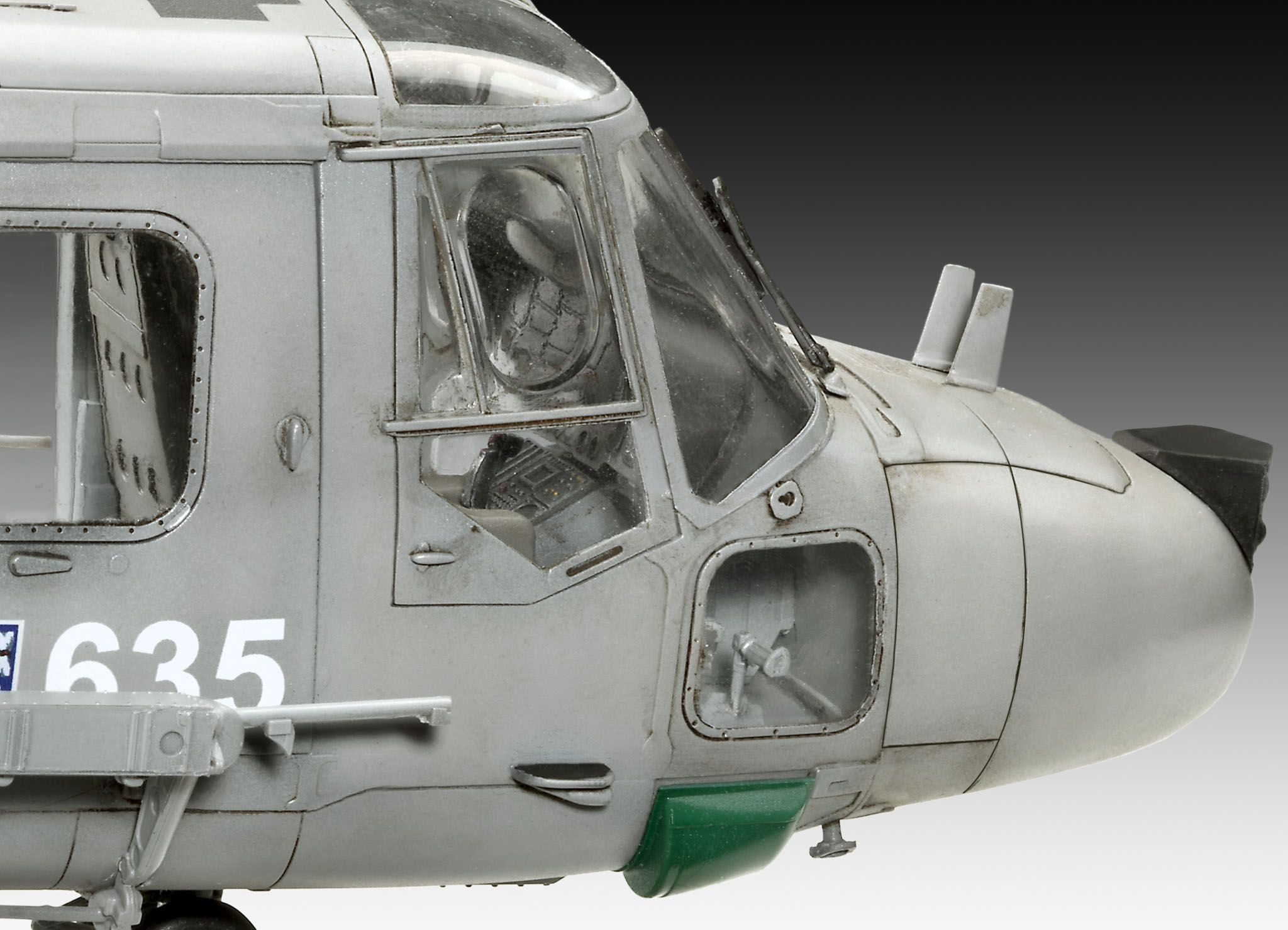 Сглобяем модел на военен хеликоптер Revell Westland - LYNX HAS.3 (04837) - 3