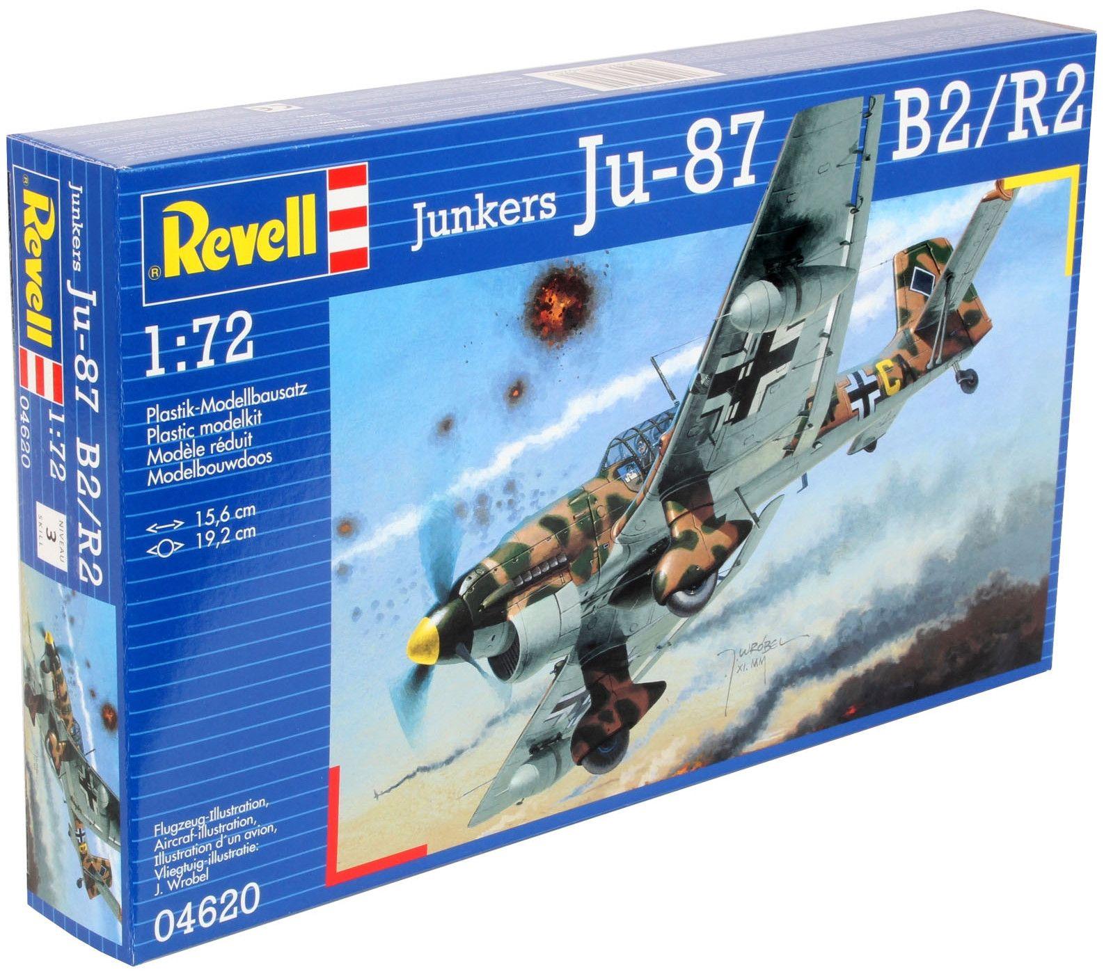 Сглобяем модел на военен самолет Revell Junkers - Ju 87 B-2 / R-2 Stuka (04620) - 2