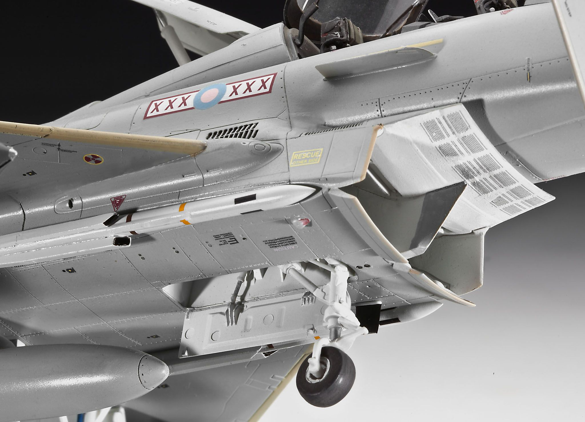 Сглобяем модел на изтребител Revell - EUROFIGHTER TYPHOON twin seater (04689) - 6