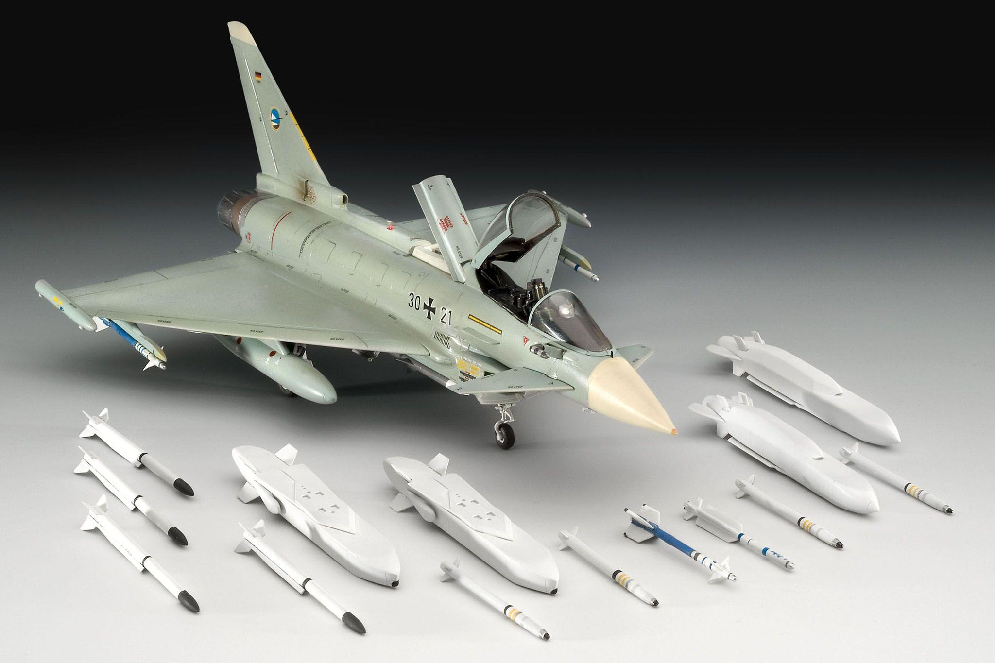 Сглобяем модел на изтребител Revell - Еurofighter TYPHOON single seater (04317) - 3