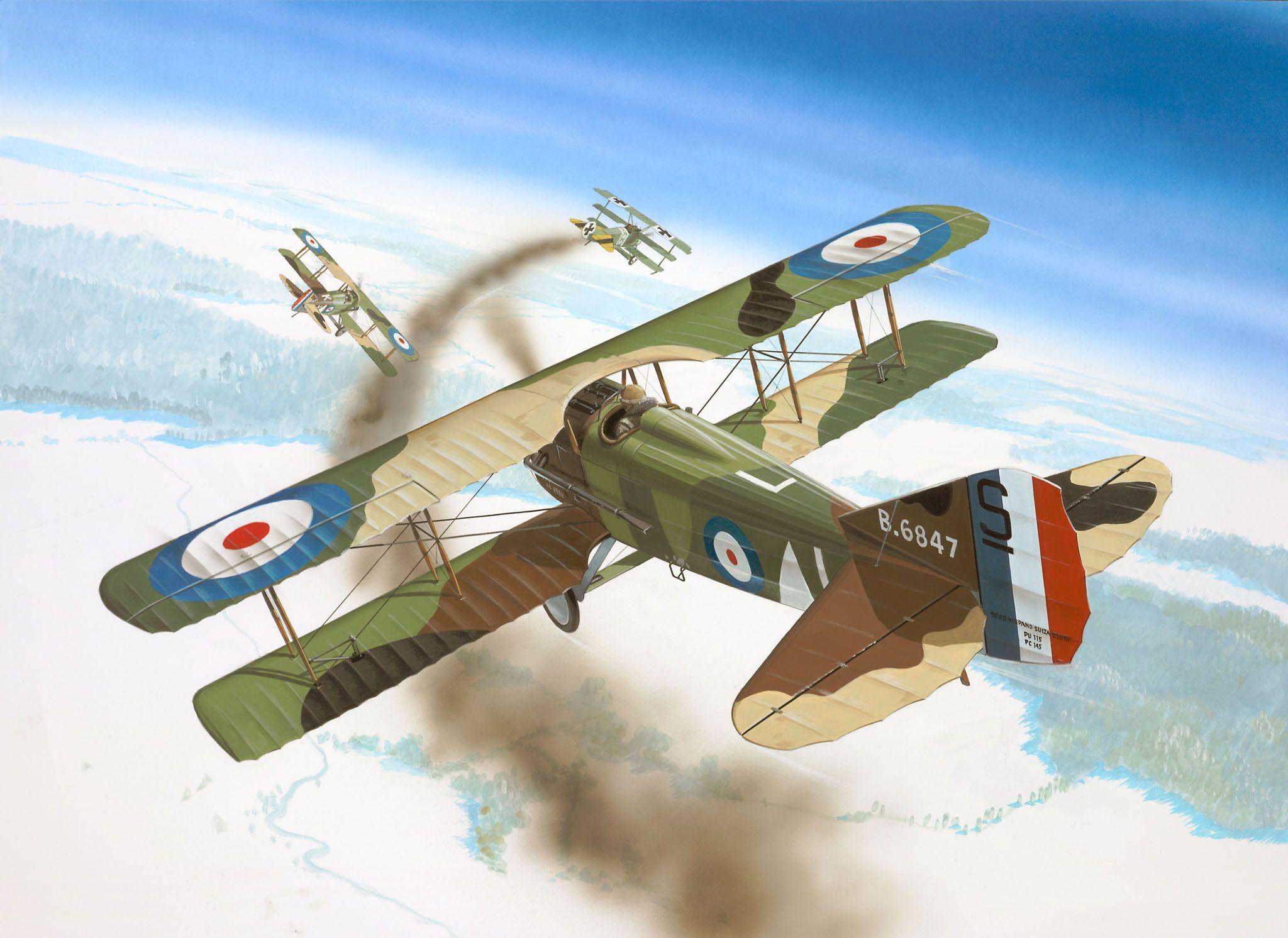 Сглобяем модел на военен самолет Revell - Spad XIII C-1 (04192) - 2