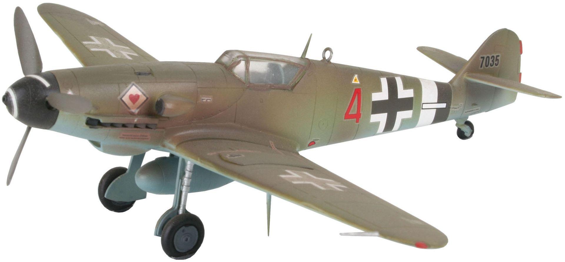 Сглобяем модел на военен самолет Revell - Messerschmitt Bf 109 G-10 (04160) - 1