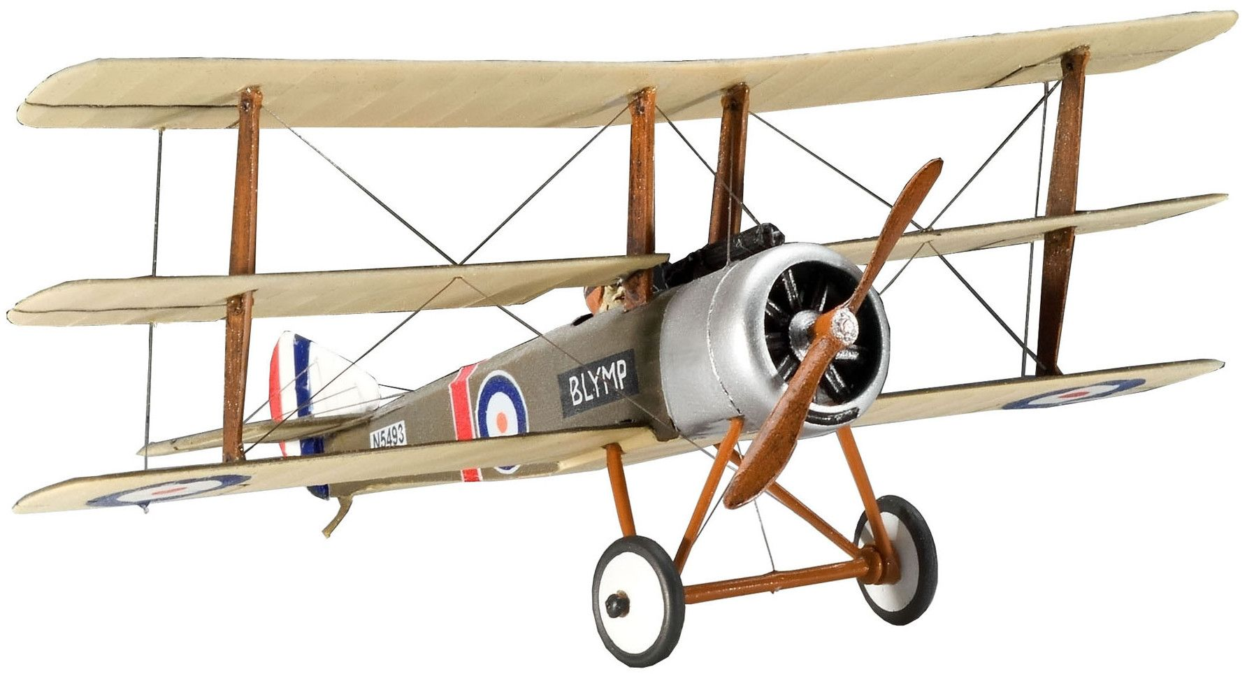 Сглобяем модел на военен самолет Revell - Sopwith Triplane (04187) - 1