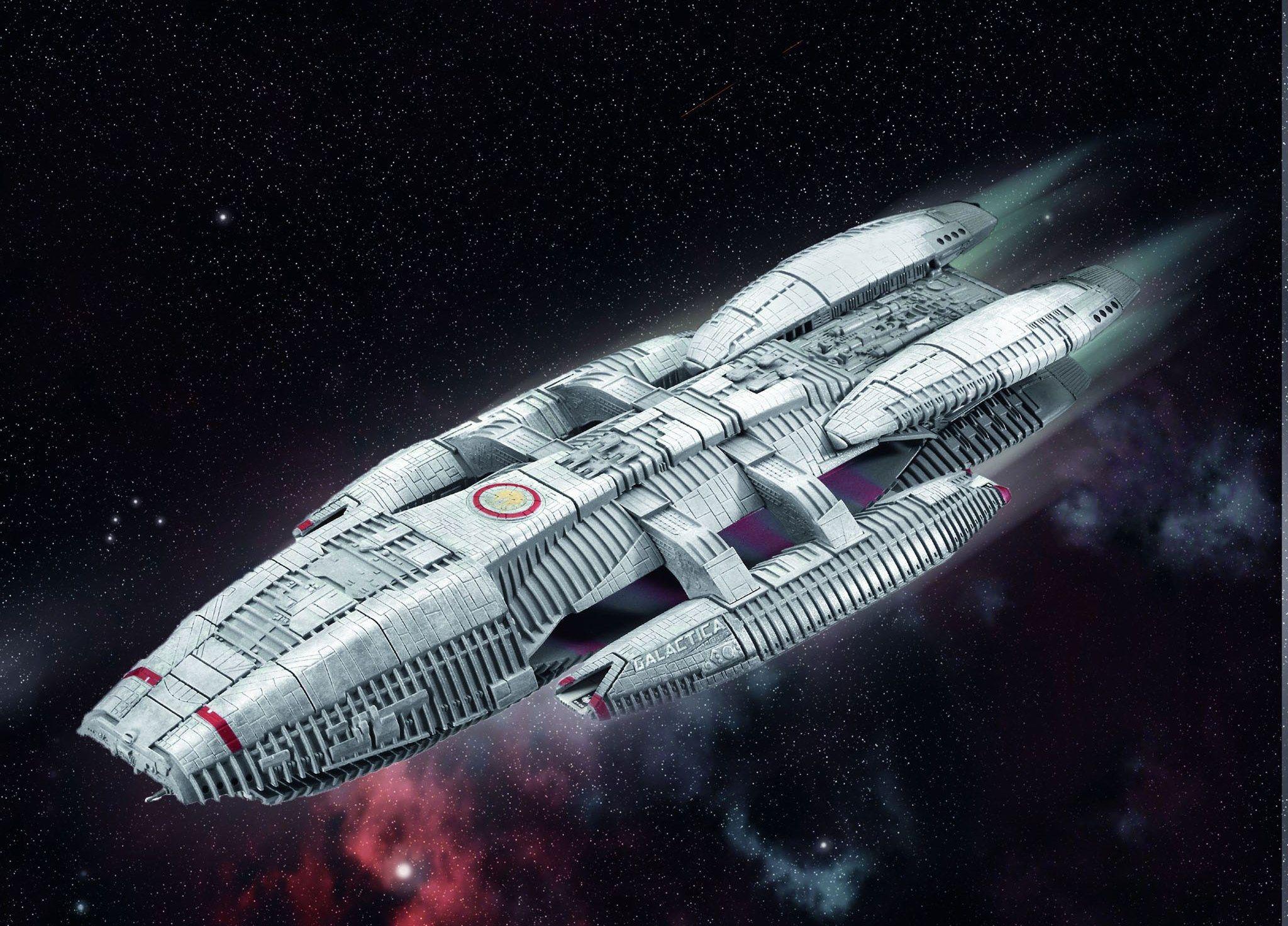 Сглобяем модел на космически кораб Revell - BSG Battlestar Galactica (04987) - 2