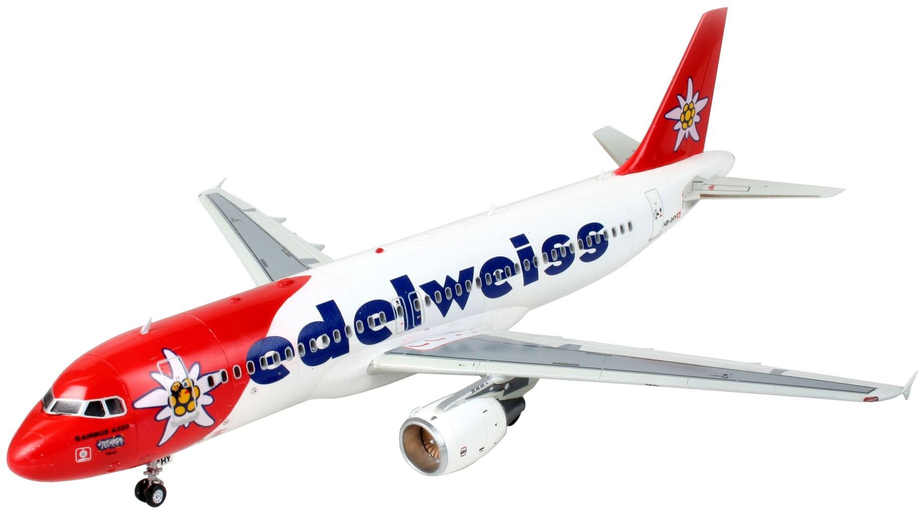 Сглобяем модел на самолет Revell - Airbus A320 Edelweiss Air (04272) - 1