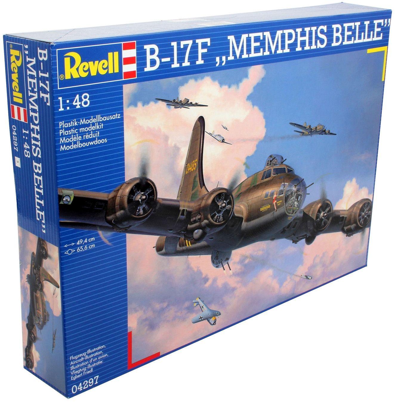 Сглобяем модел на военен самолет Revell - B-17F Memphis Belle (04297) - 7