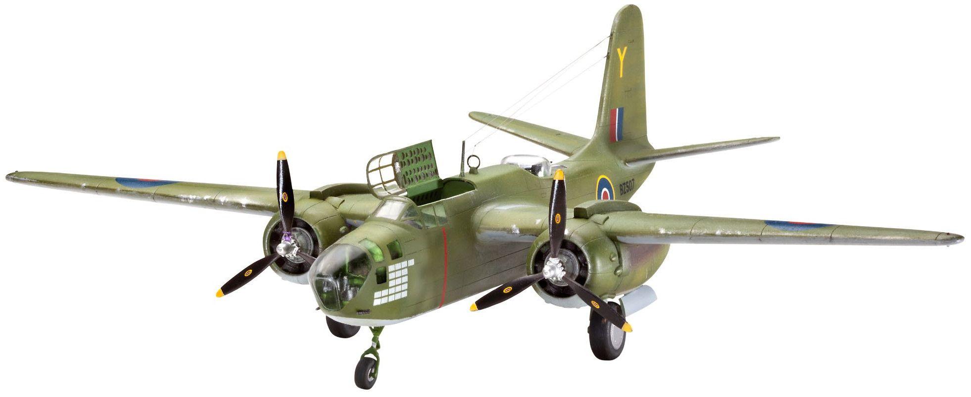 Сглобяем модел на военен самолет Revell - Boston Mk.V / A-20J (04278) - 1