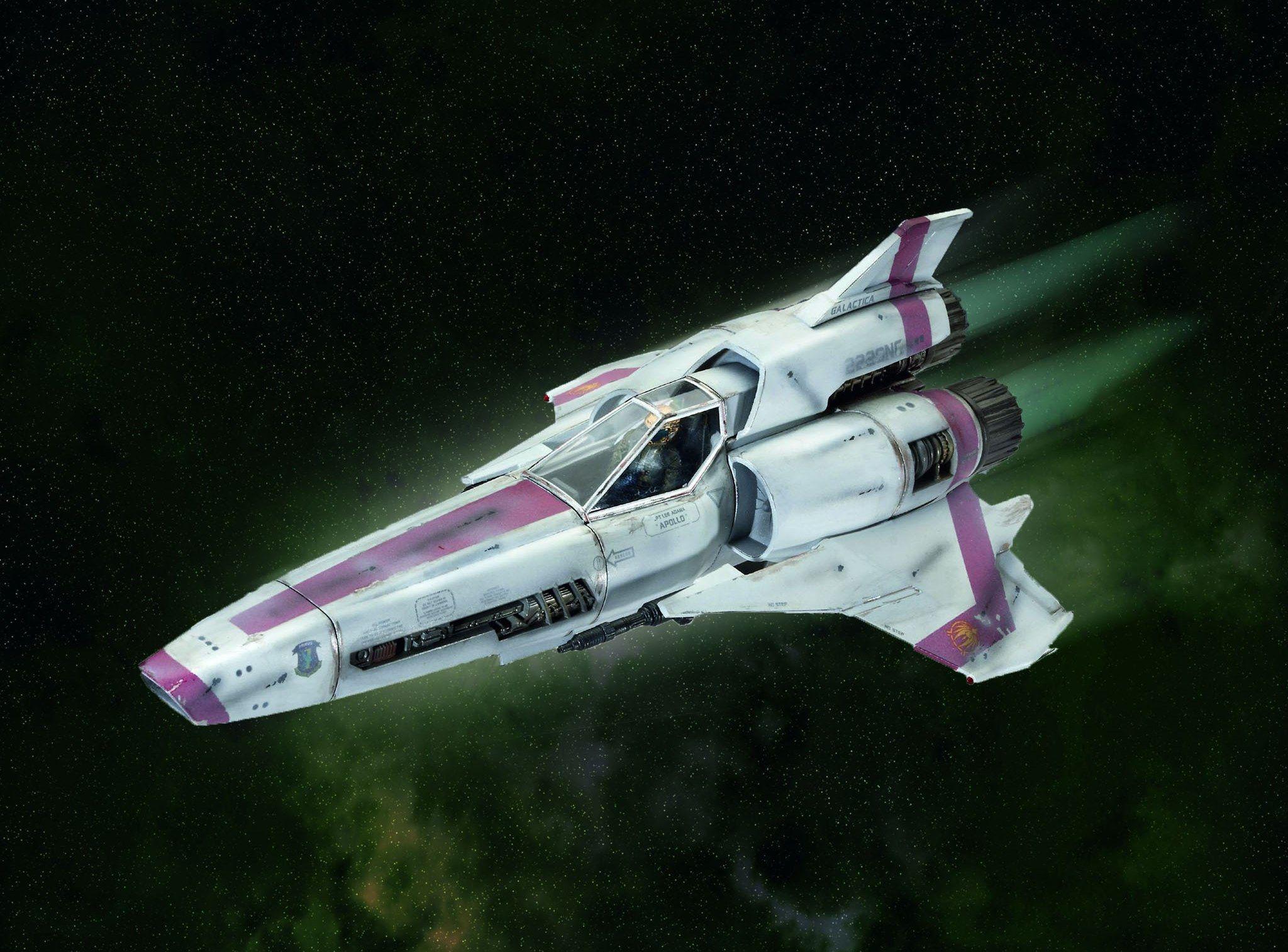 Сглобяем модел на космически кораб Revell - BSG Colonial Viper Mk. II (04988) - 2