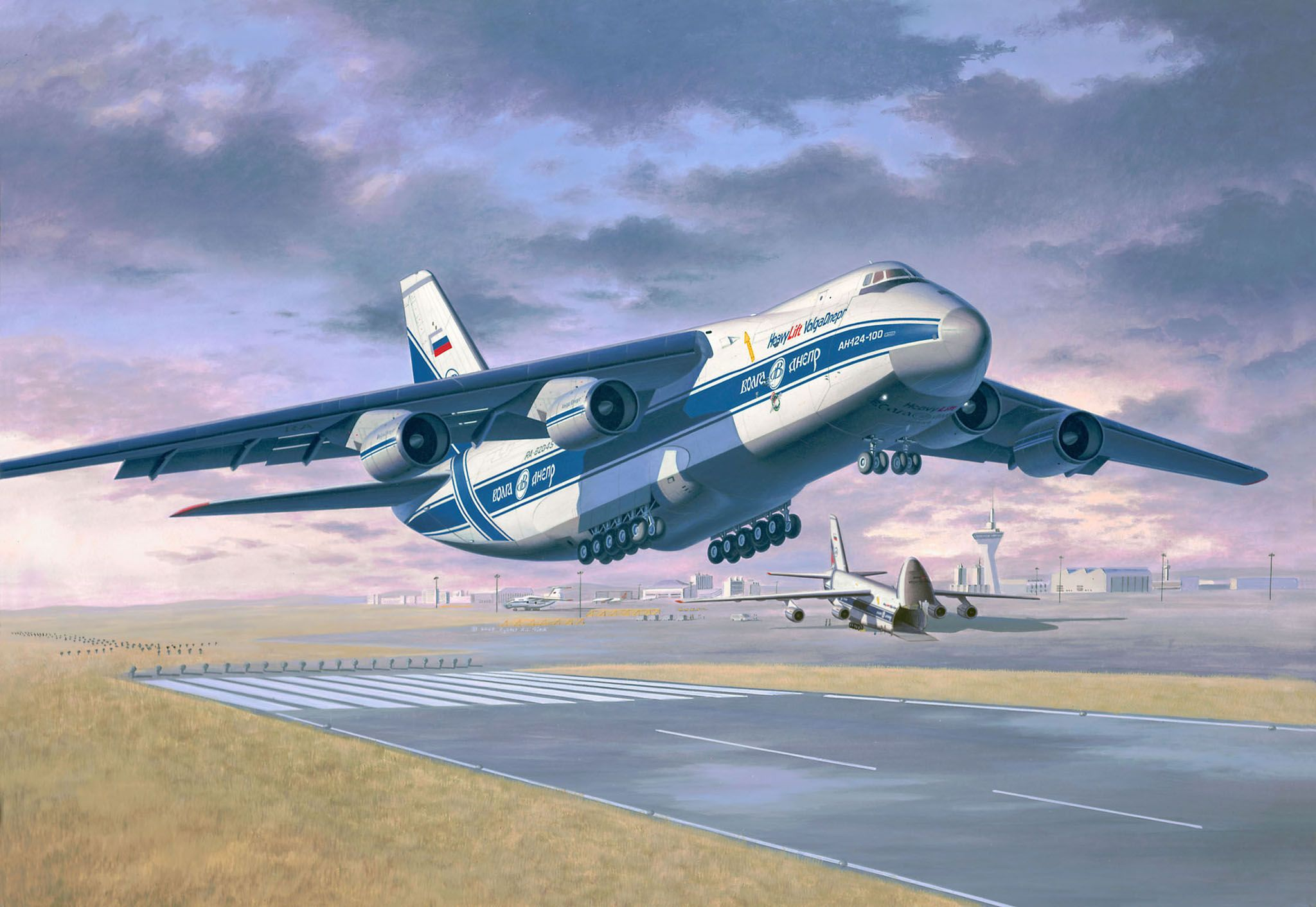 Сглобяем модел на самолет Revell - Antonov An-124 Ruslan (04221) - 2