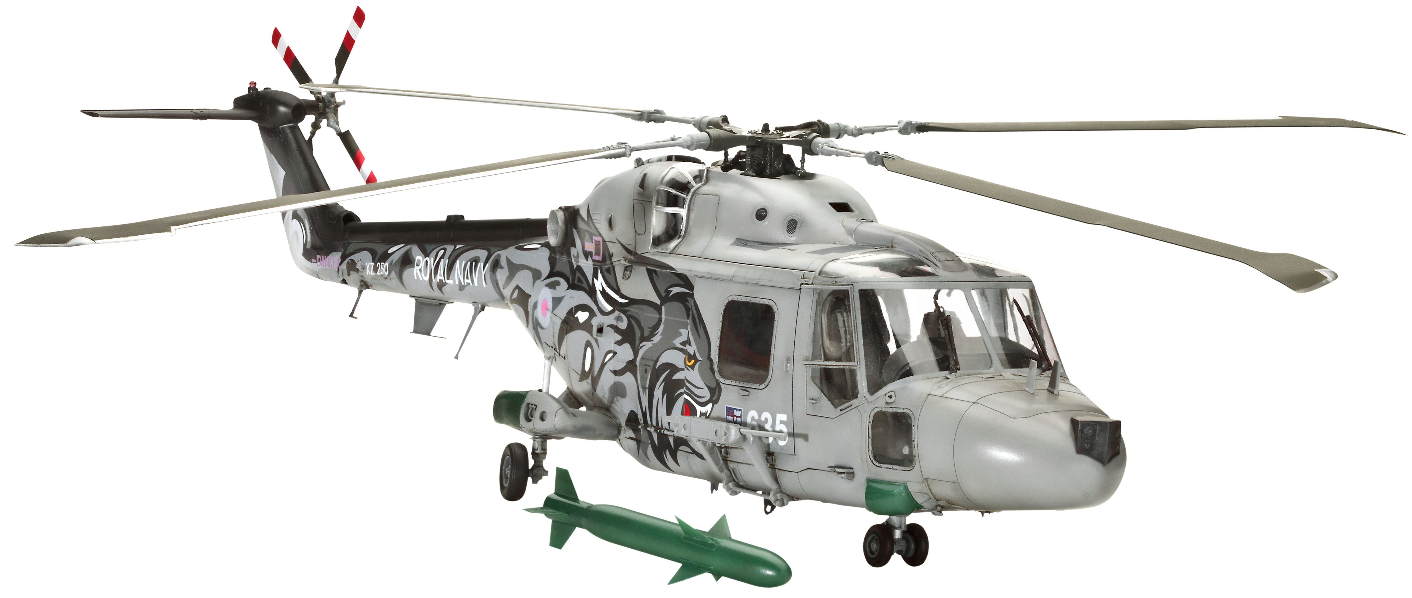 Сглобяем модел на военен хеликоптер Revell Westland - LYNX HAS.3 (04837) - 1