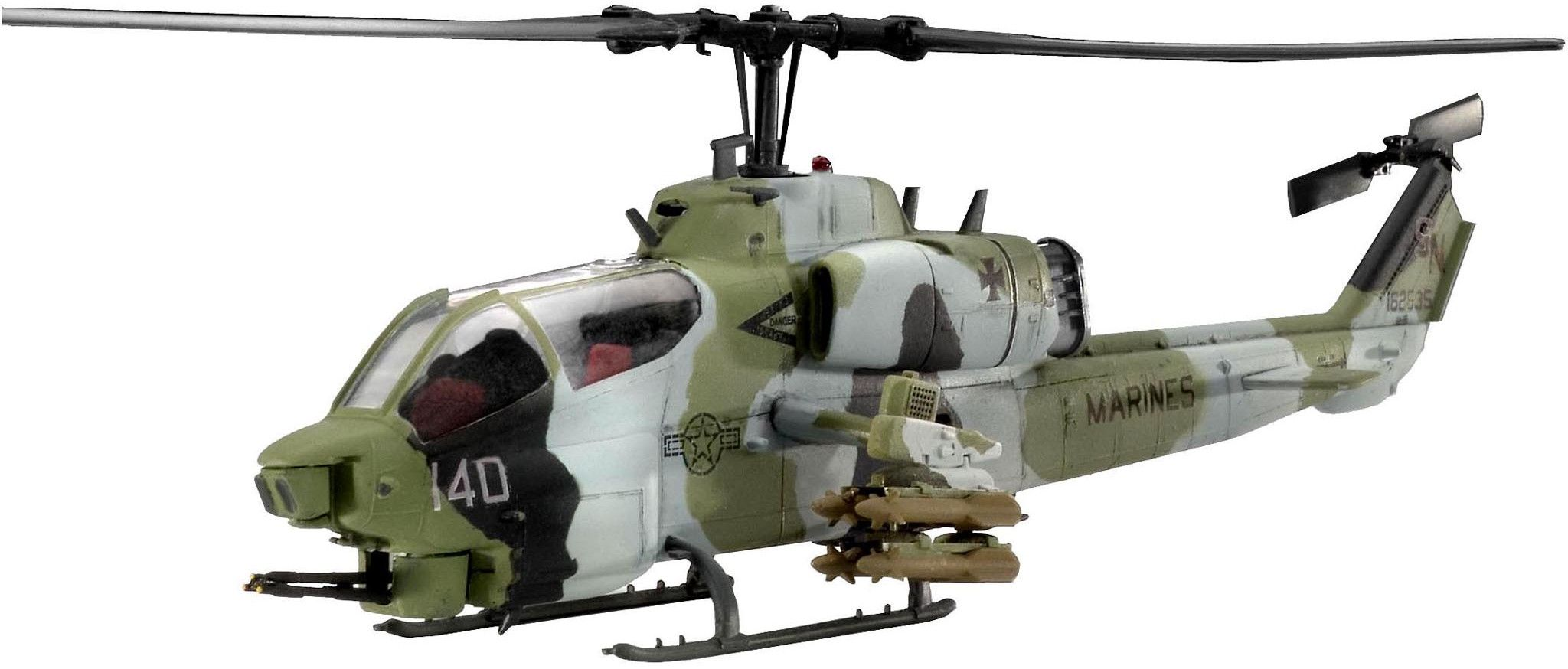 Сглобяем модел на хеликоптер Revell - AH-1W Super Cobra (04415) - 1