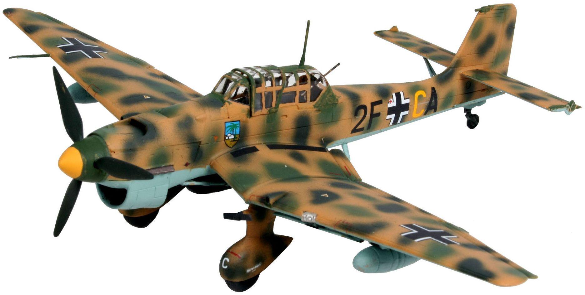 Сглобяем модел на военен самолет Revell Junkers - Ju 87 B-2 / R-2 Stuka (04620) - 1