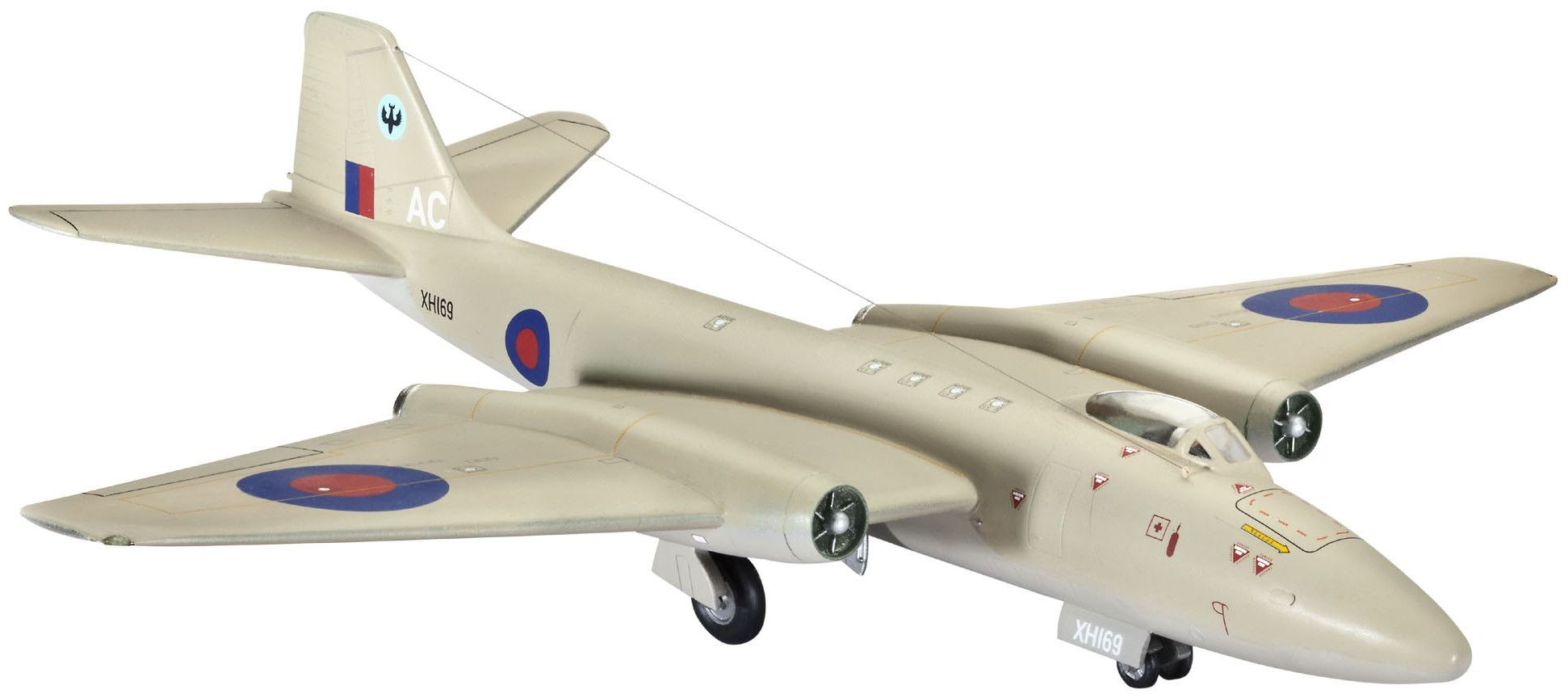 Сглобяем модел на военен самолет Revell - Canberra PR.9 (04281) - 1