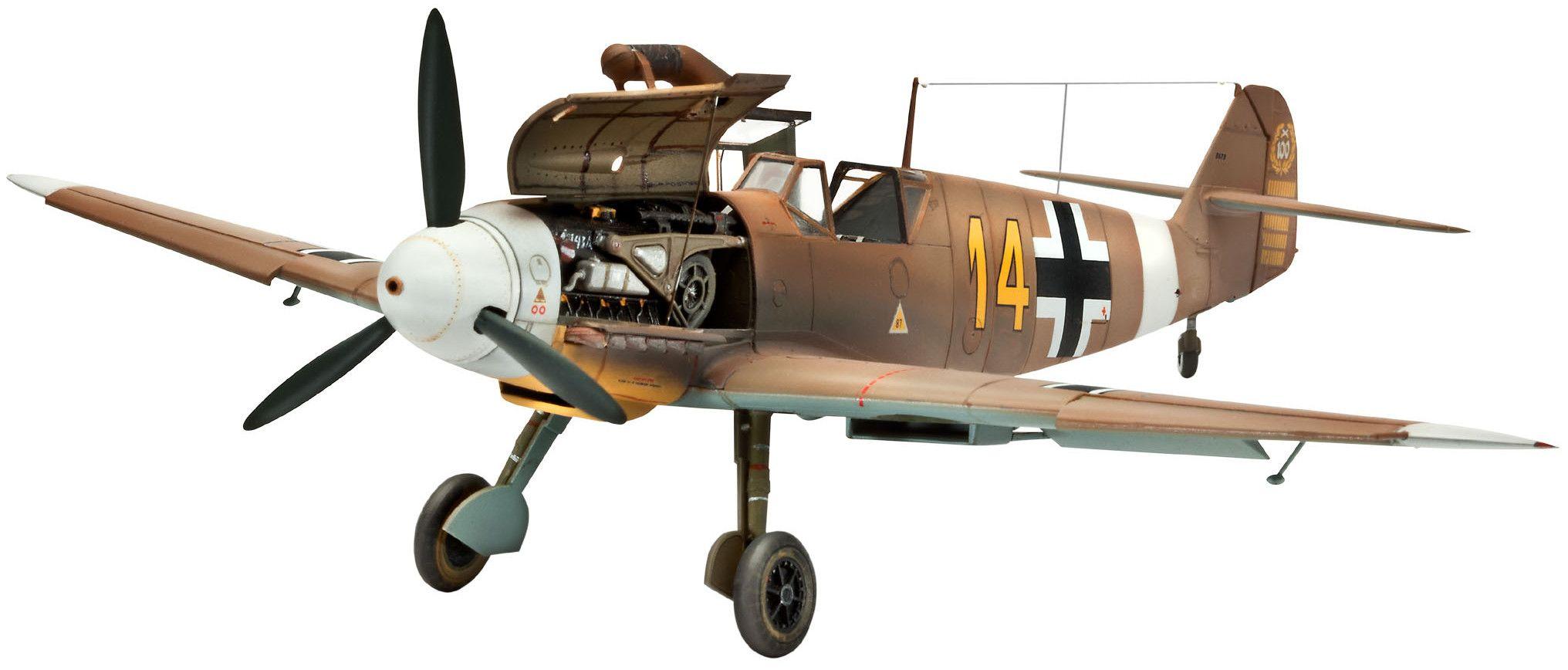 Сглобяем модел на военен самолет Revell Messerschmitt - Bf109 F-2/4 (04656) - 1