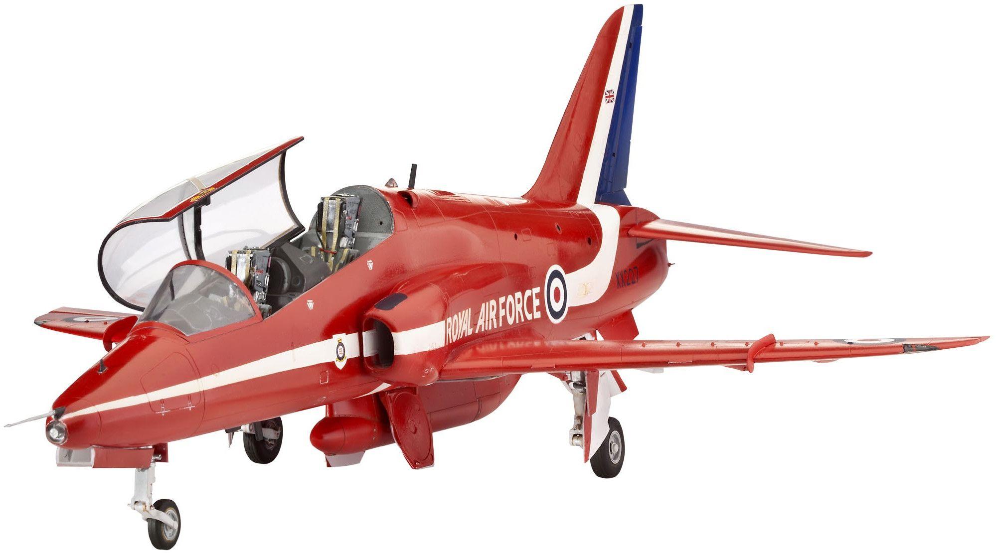 Сглобяем модел на военен самолет Revell - BАЕ Hawk Red Arrows (04284) - 1