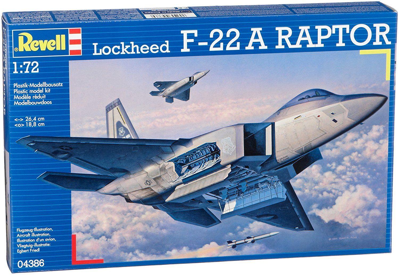 "Сглобяем модел на изтребител Revell - Lockheed F-22 ""Raptor"" (04386) - 2"