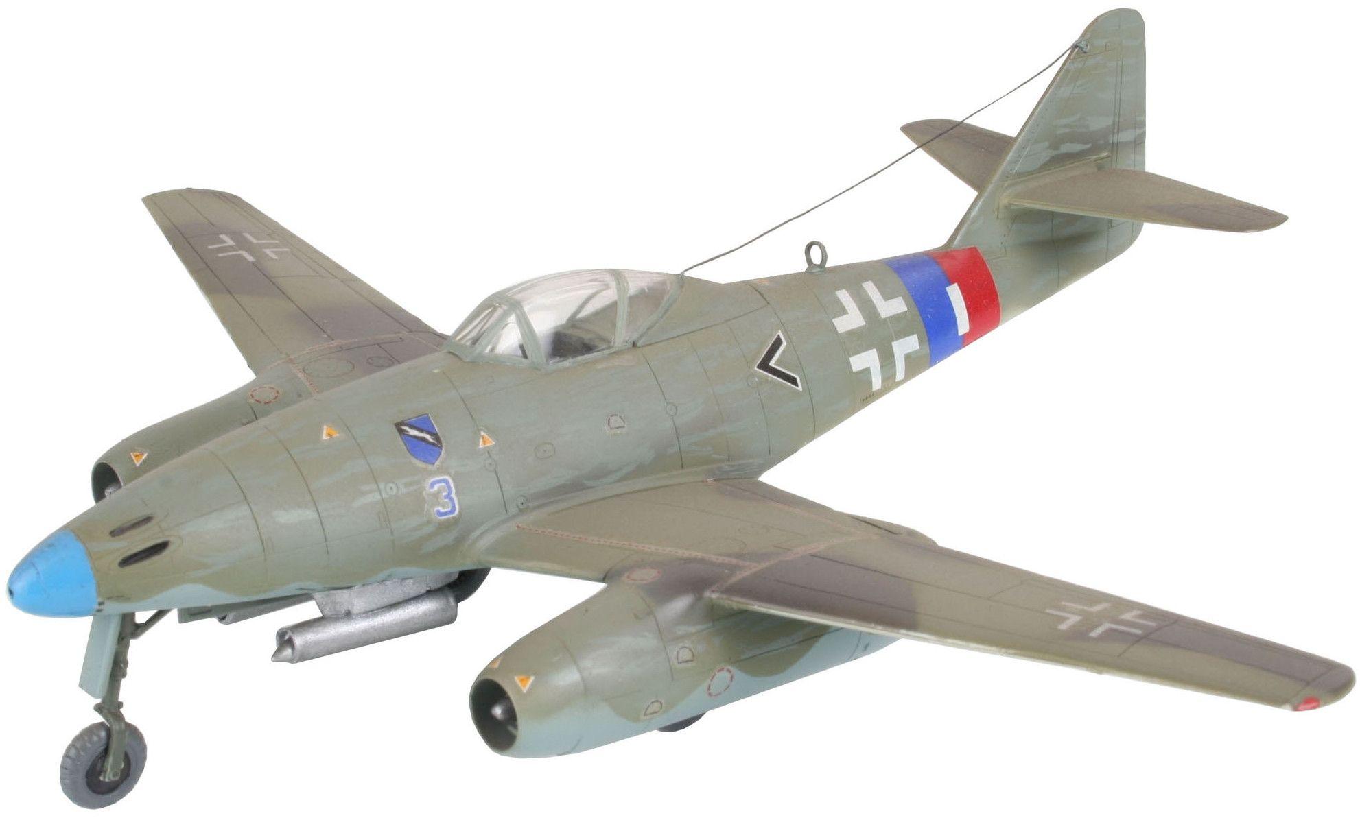Сглобяем модел на военен самолет Revell - Me 262 A1a (04166) - 1
