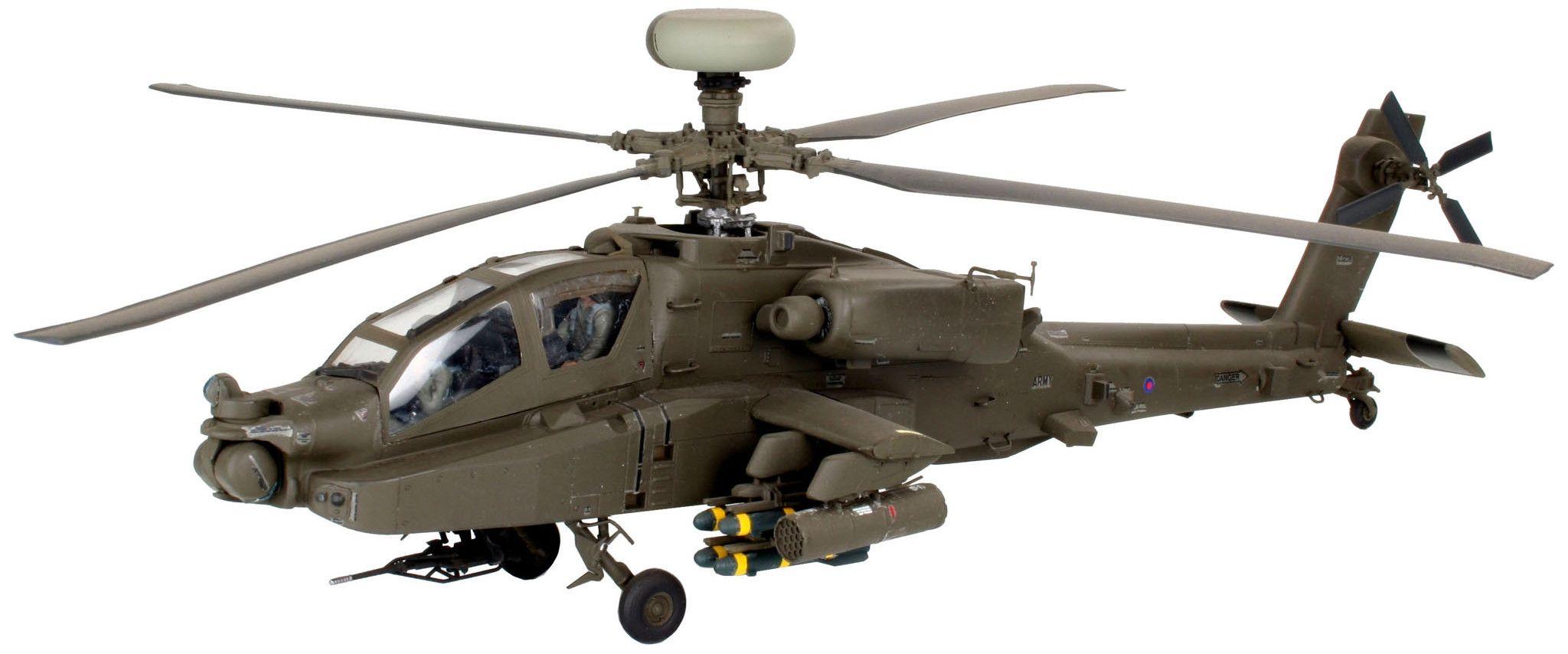 Сглобяем модел на хеликоптер Revell - AH-64D Longbow Apache/WAH-64D (04420) - 1