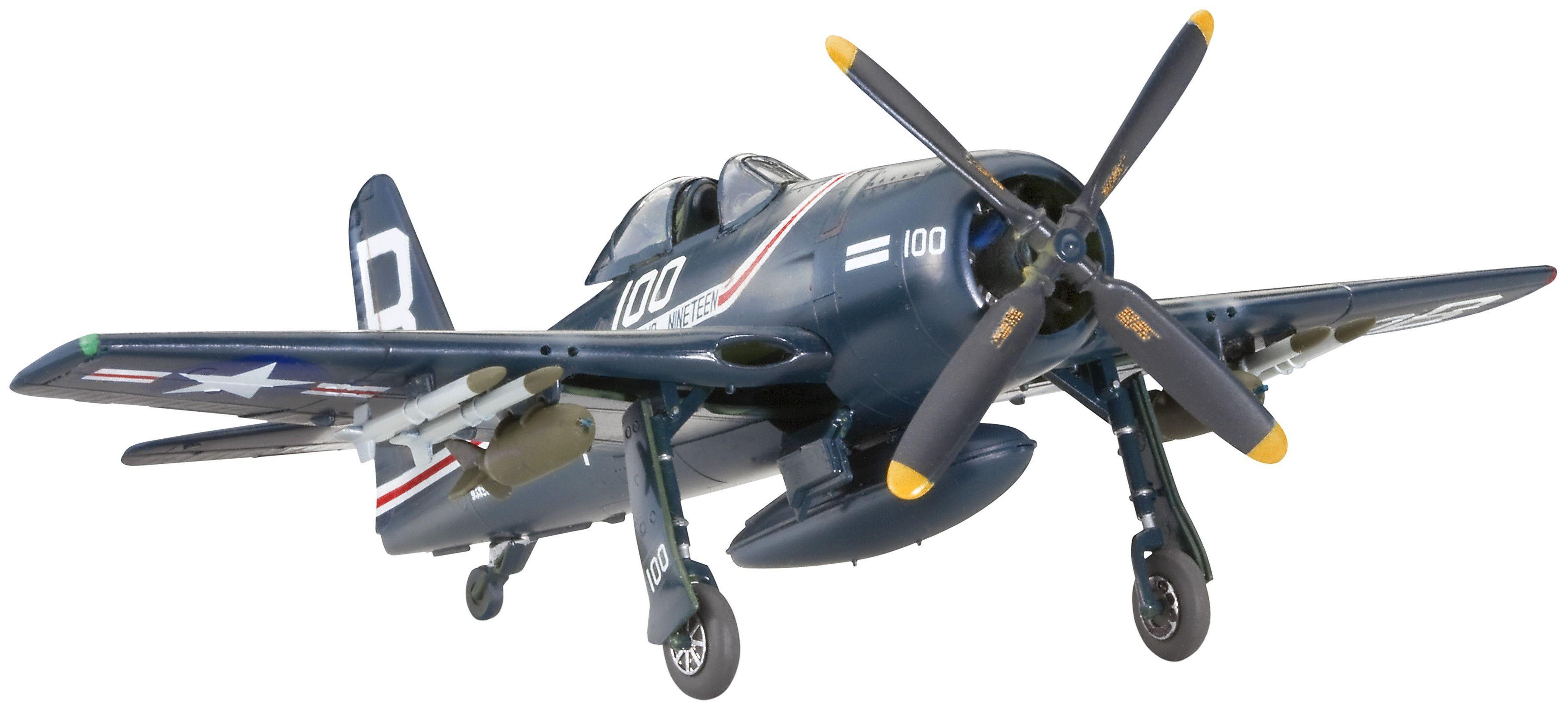 Сглобяем модел на военен самолет Revell - F-8F Bearcat (04680) - 1