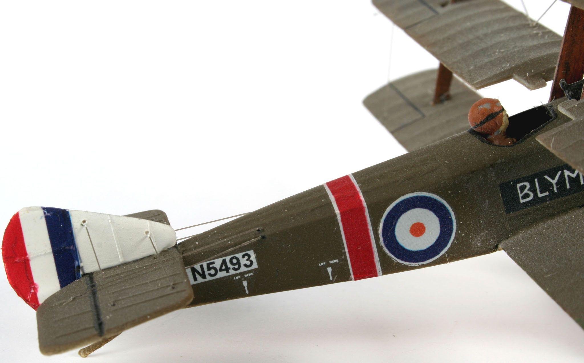 Сглобяем модел на военен самолет Revell - Sopwith Triplane (04187) - 5