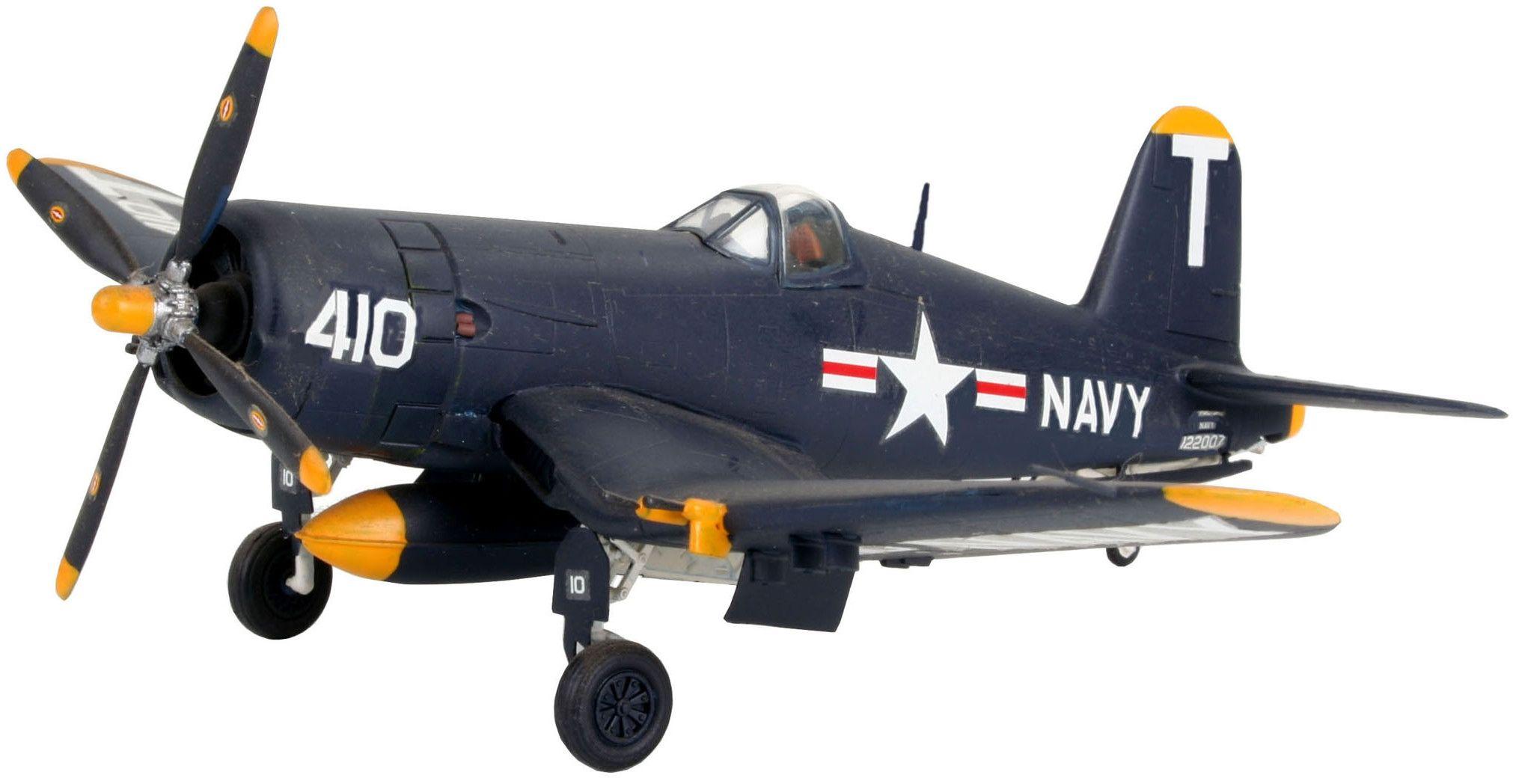 Сглобяем модел на военен самолет Revell - F4U-5 Corsair (04143) - 1