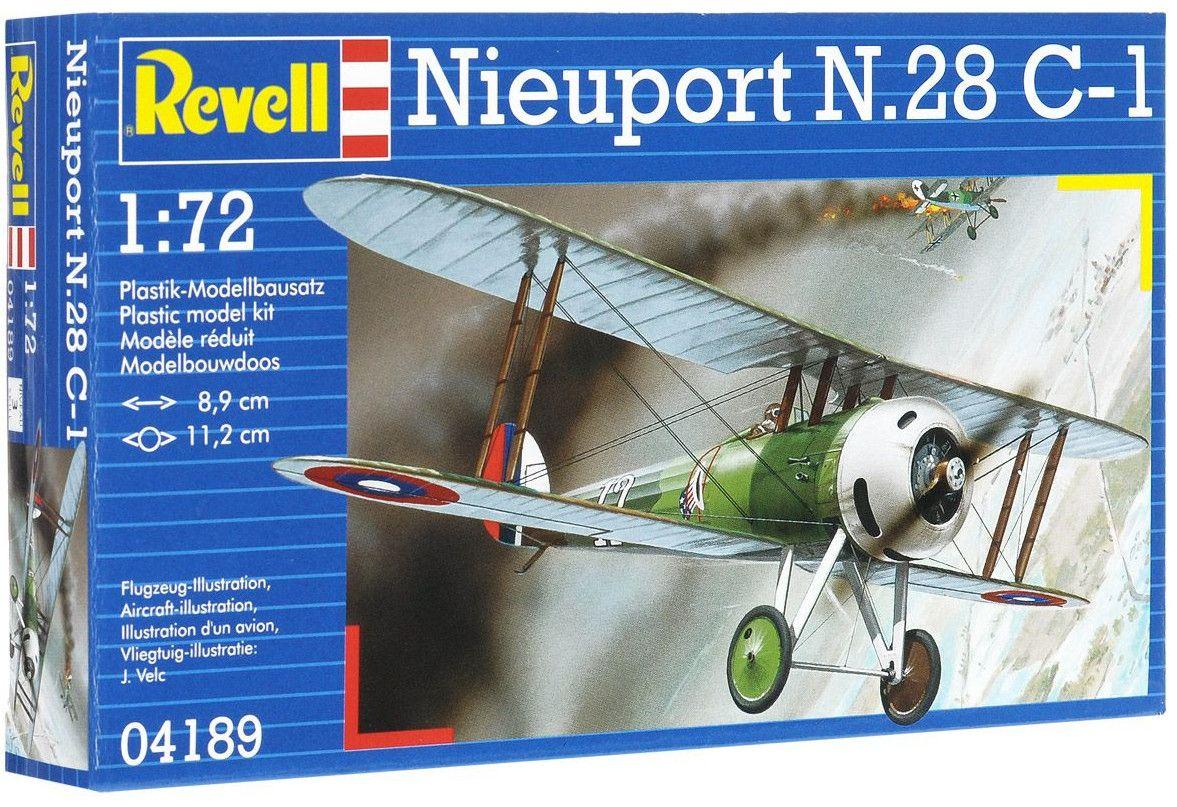 Сглобяем модел на военен самолет Revell - Nieuport N.28 C-1 (04189) - 1