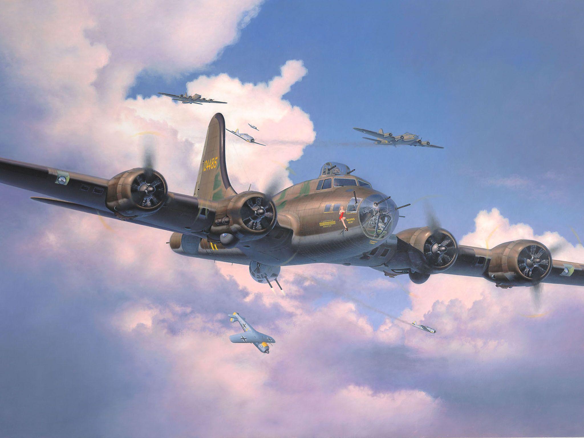 Сглобяем модел на военен самолет Revell - B-17F Memphis Belle (04297) - 6