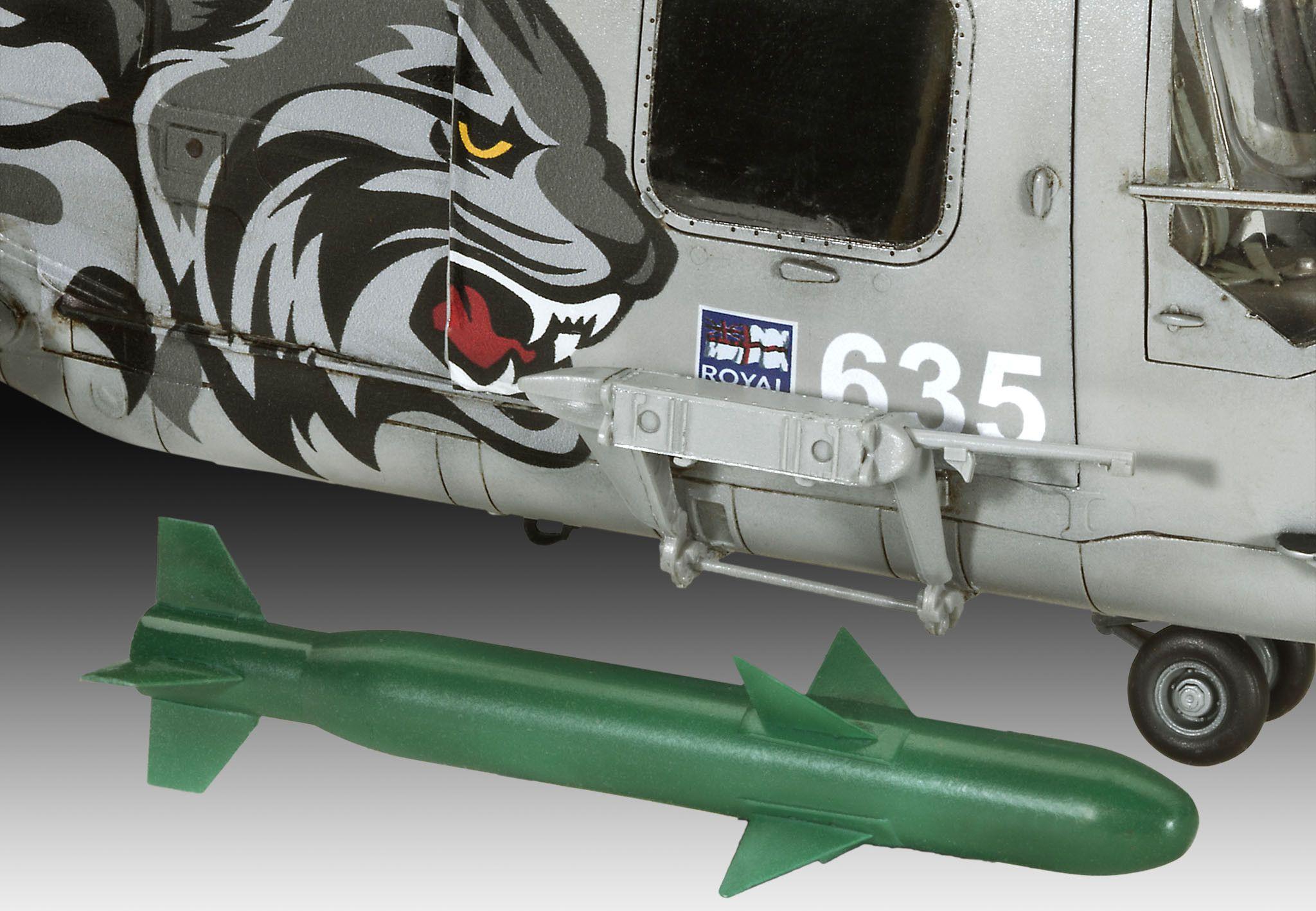 Сглобяем модел на военен хеликоптер Revell Westland - LYNX HAS.3 (04837) - 5