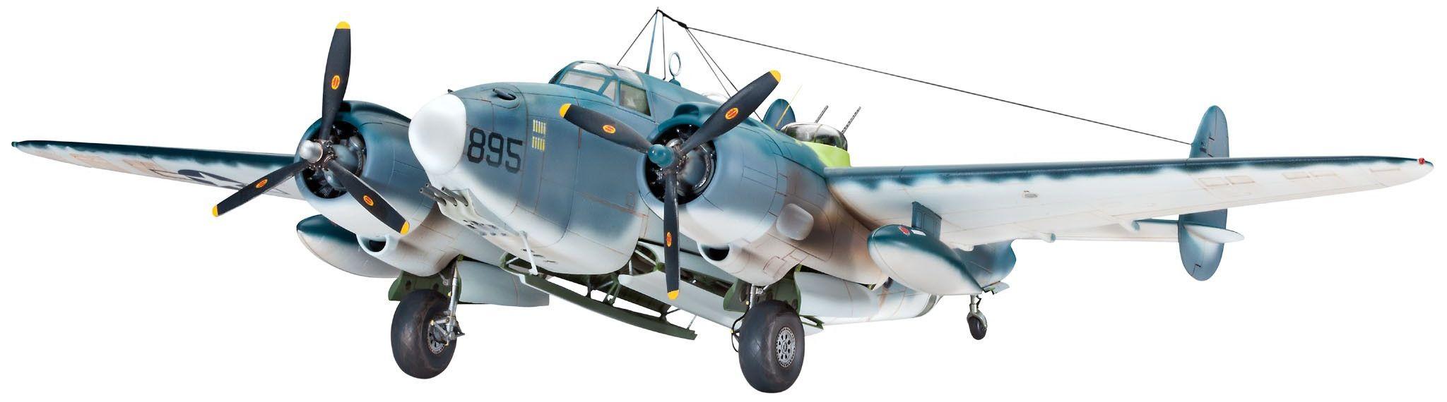 Сглобяем модел на военен самолет Revell Lockheed - PV-1 VENTURA (04662) - 1