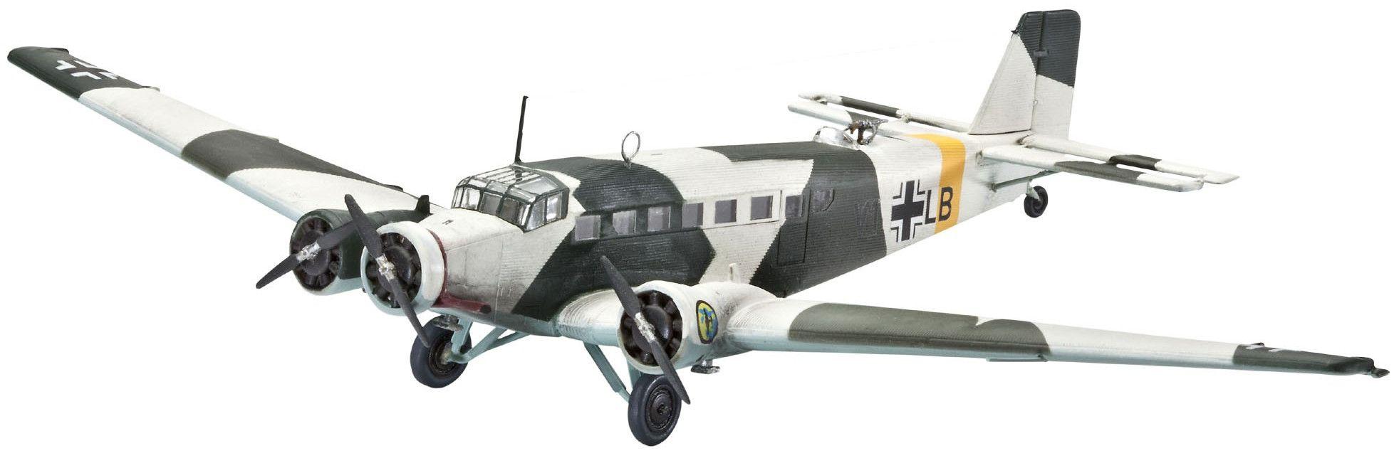 Сглобяем модел на военен самолет Revell Junkers - Ju52/3m (04843) - 1