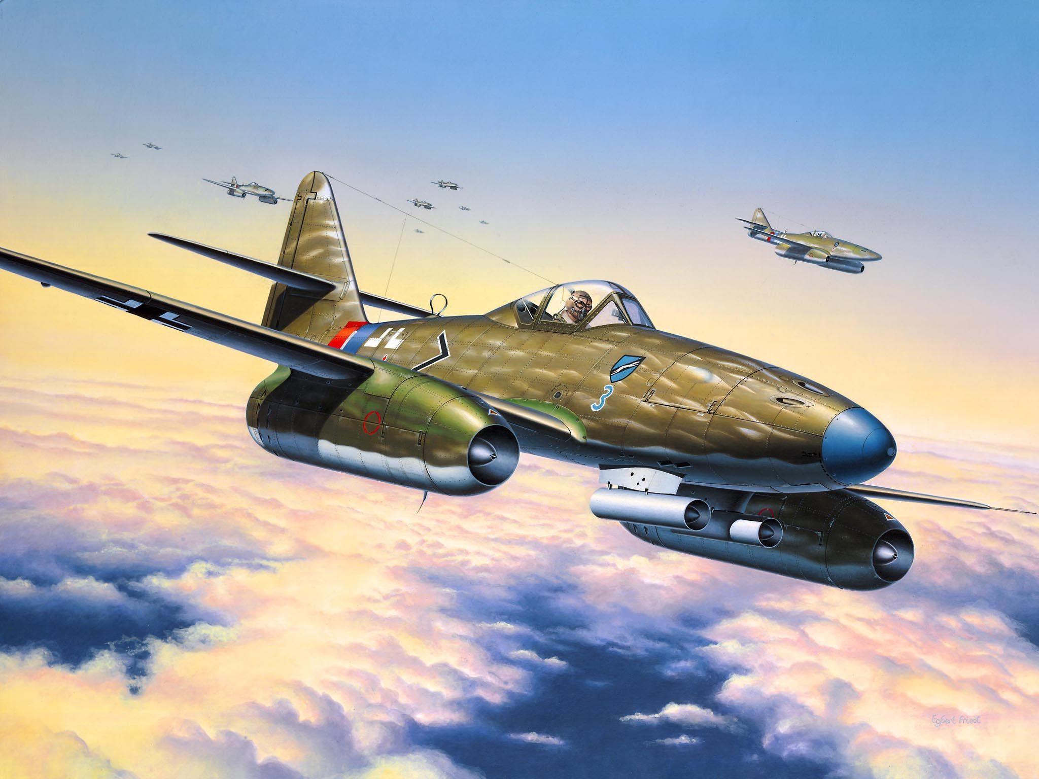 Сглобяем модел на военен самолет Revell - Me 262 A1a (04166) - 2