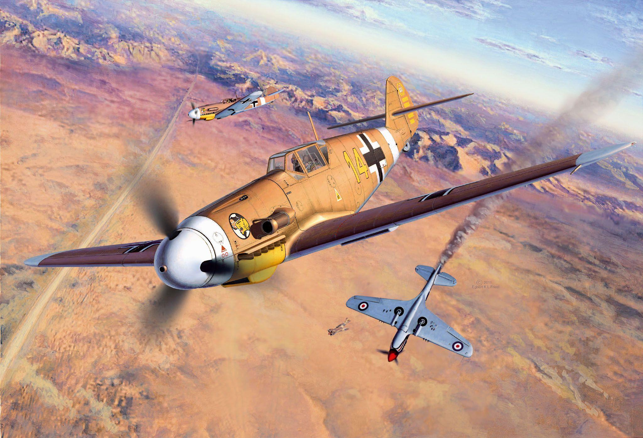 Сглобяем модел на военен самолет Revell Messerschmitt - Bf109 F-2/4 (04656) - 2
