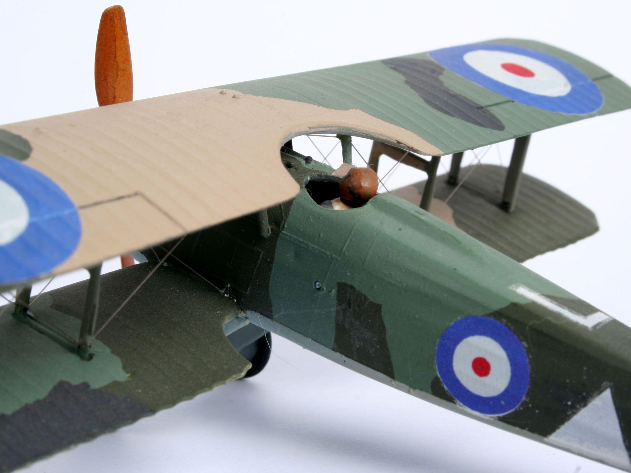 Сглобяем модел на военен самолет Revell - Spad XIII C-1 (04192) - 5